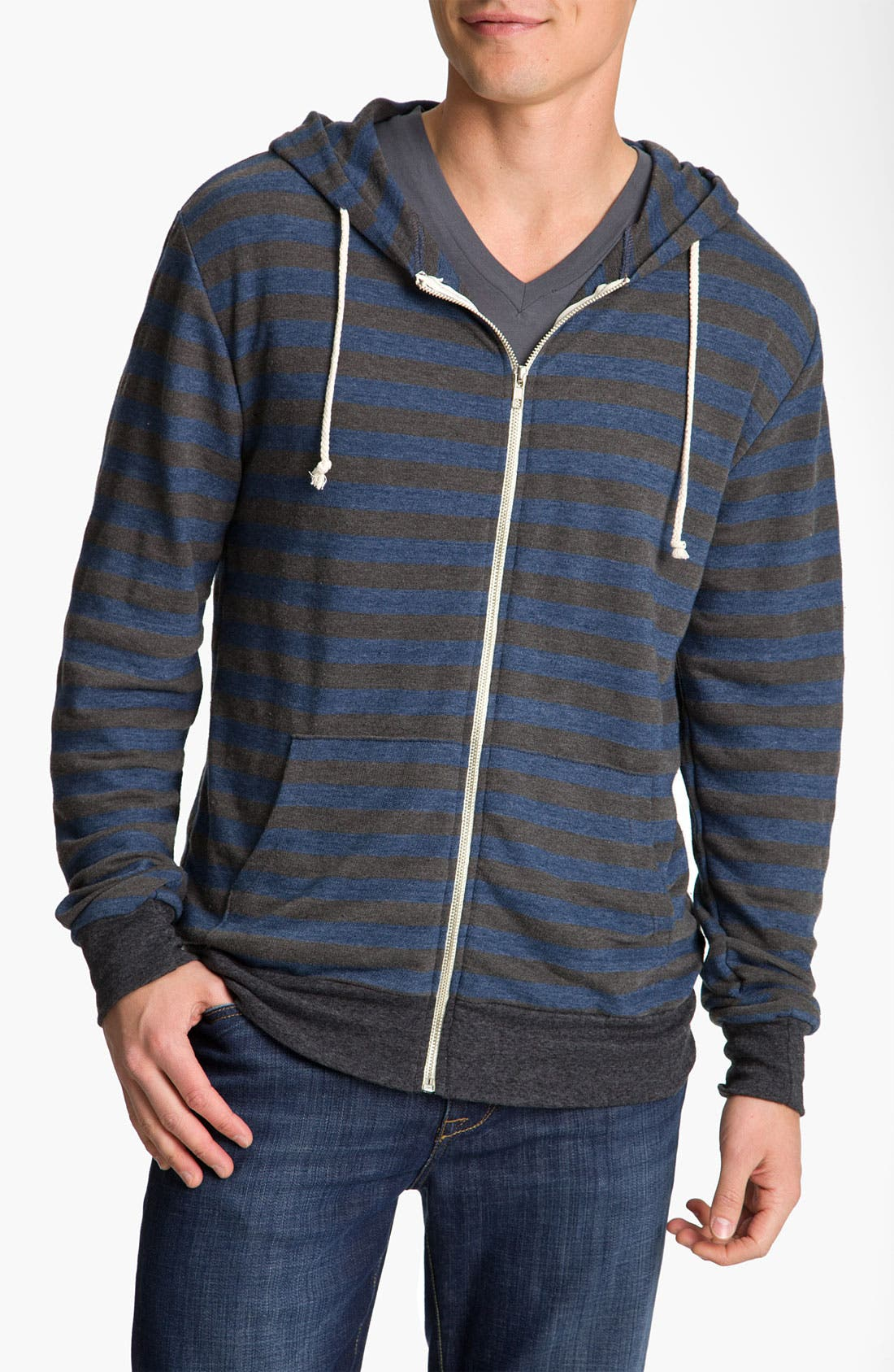 Alternate Image 1 Selected - Threads for Thought Trim Fit French Terry Hoodie