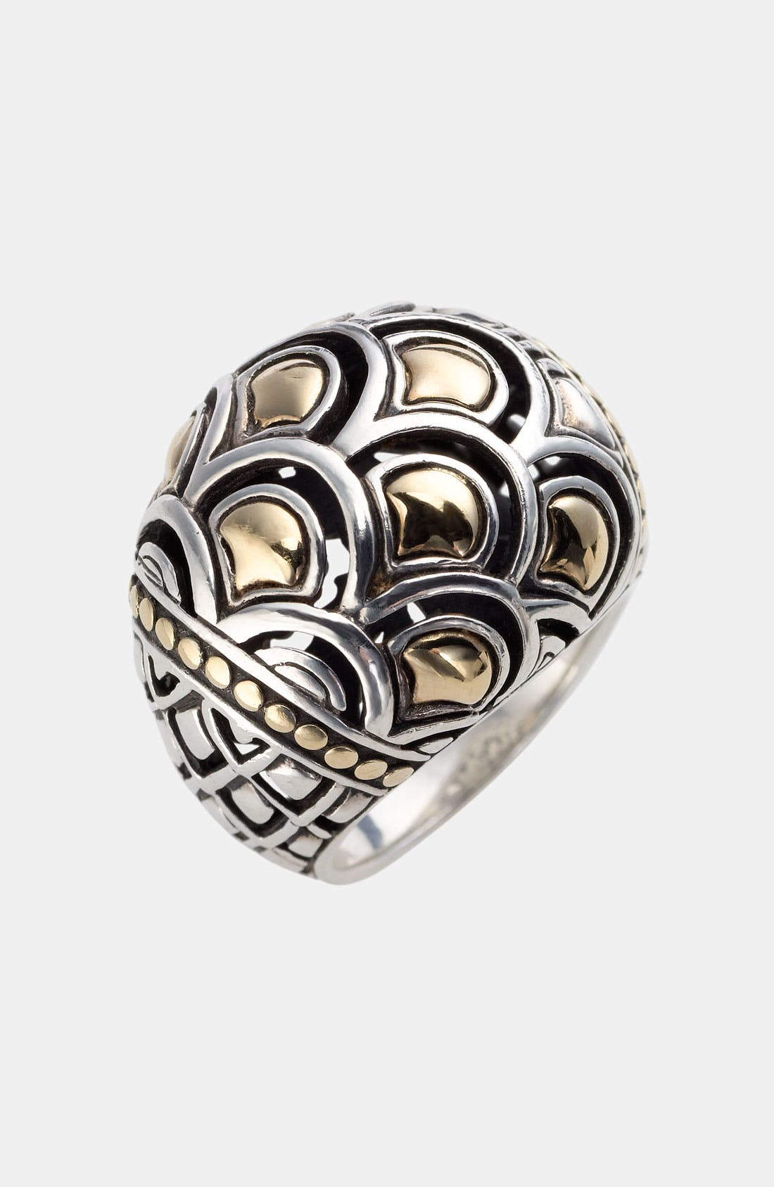 Alternate Image 1 Selected - John Hardy 'Naga Gold & Silver' Dome Ring