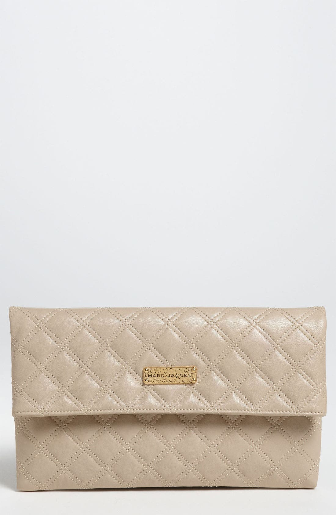 Main Image - MARC JACOBS 'Large Eugenie' Quilted Leather Clutch