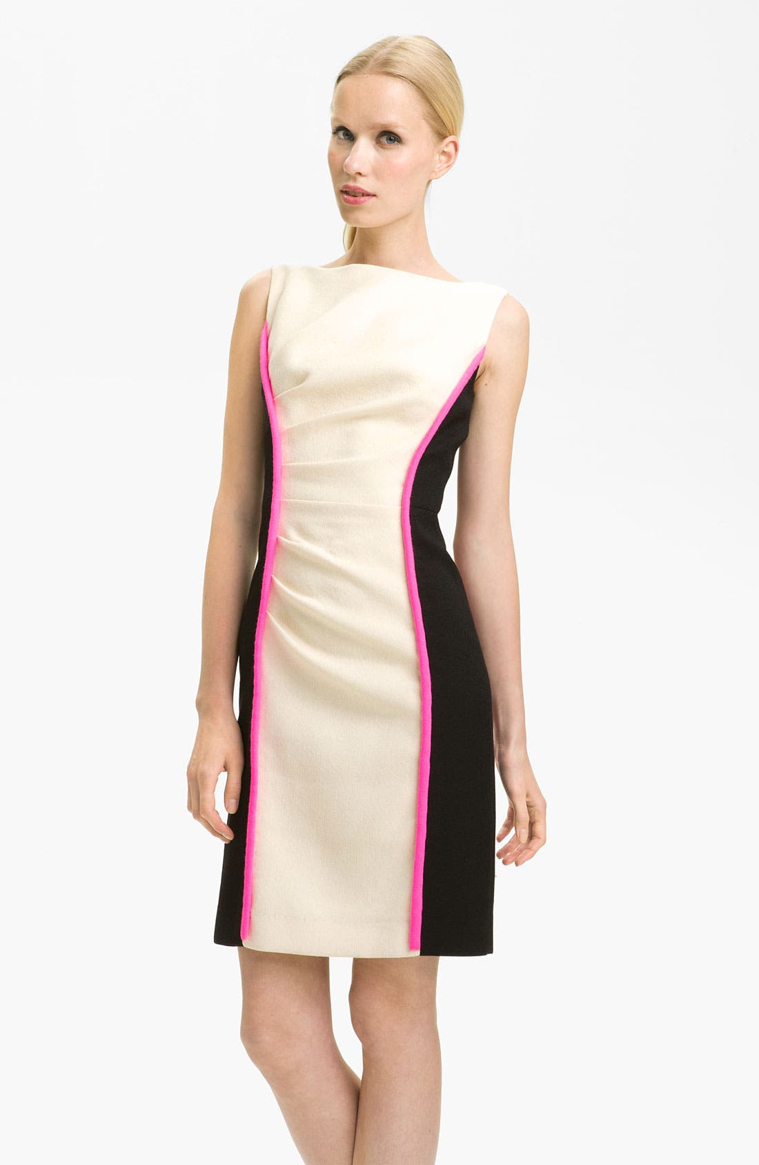 Main Image - Milly 'Tabitha' Colorblock Dress