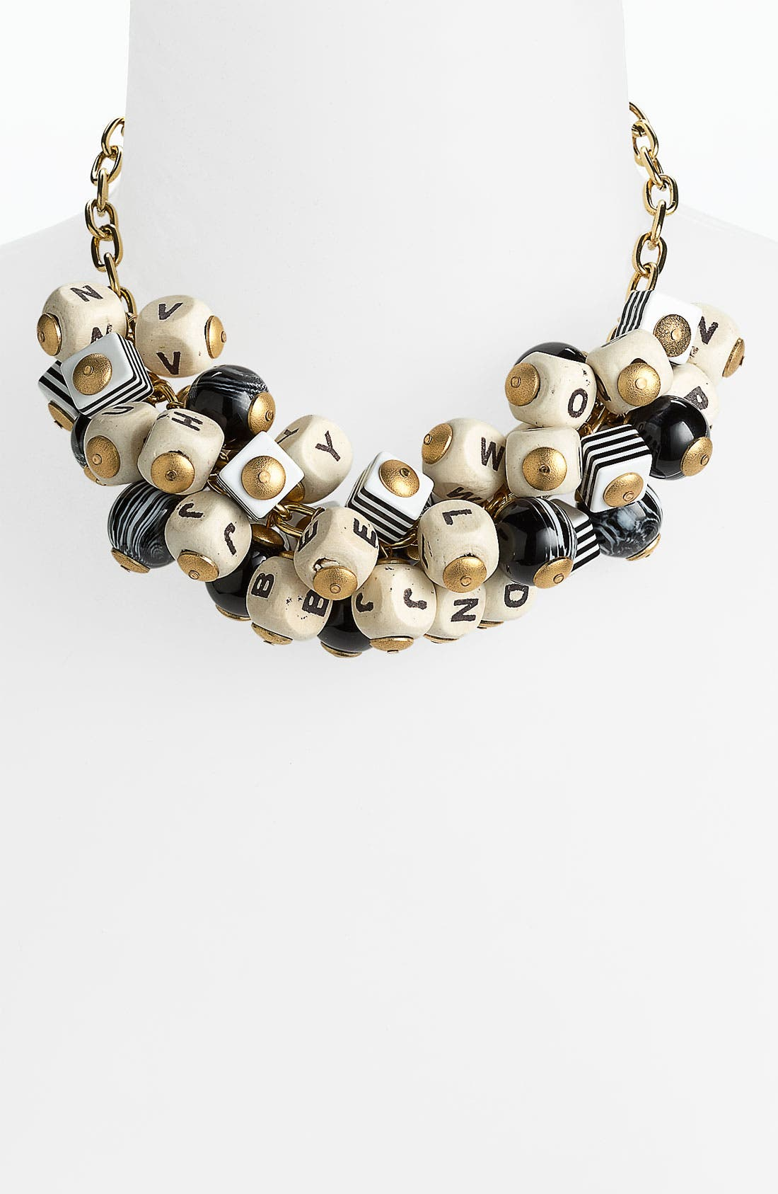 Main Image - Lenora Dame 'Letter & Ball' Necklace