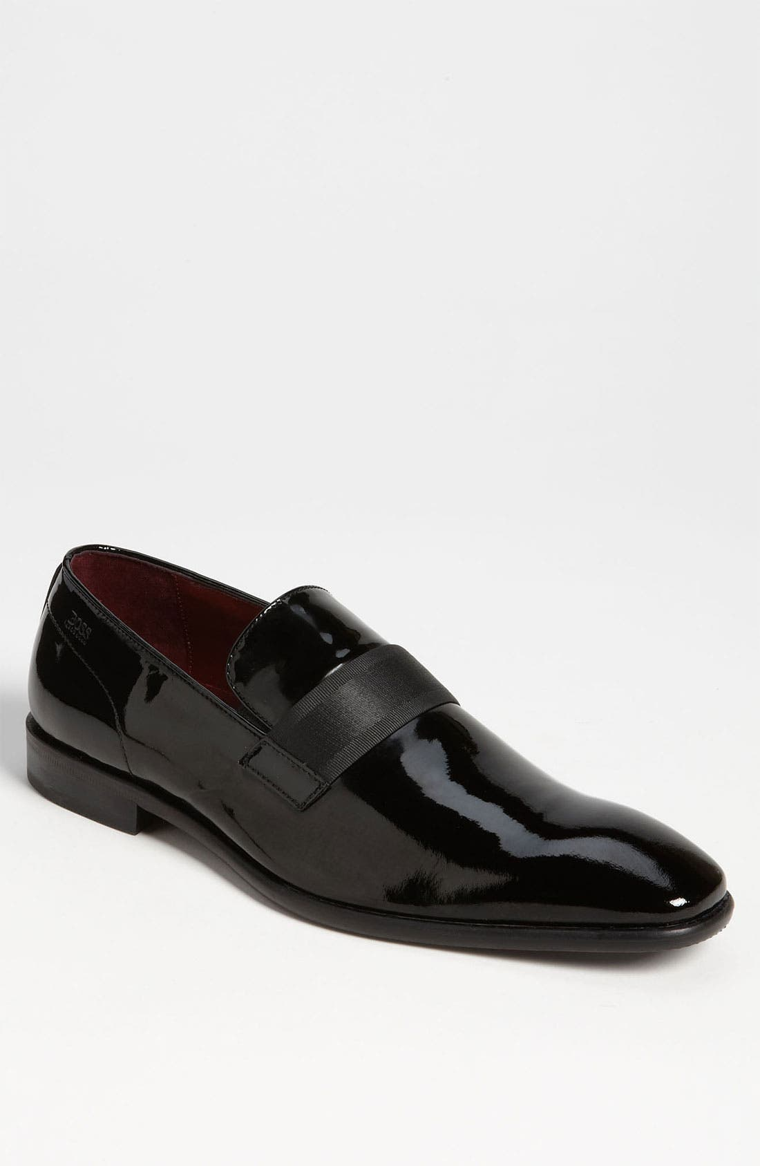 Main Image - BOSS 'Mellion' Patent Loafer (Men)