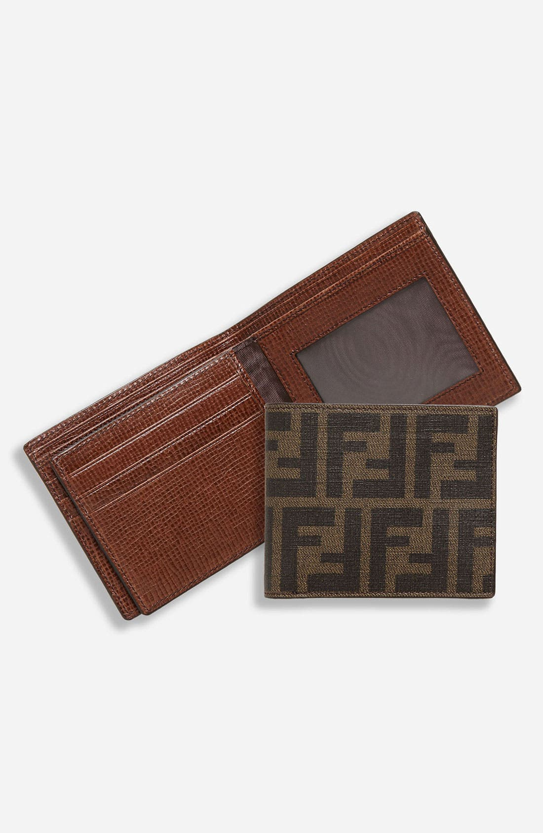 Alternate Image 1 Selected - Fendi Bifold Wallet