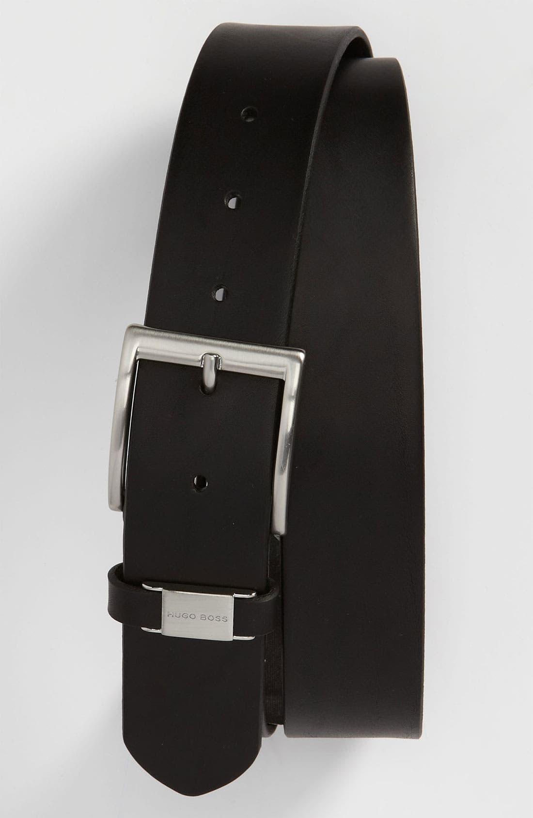 Main Image - BOSS 'Connio' Leather Belt