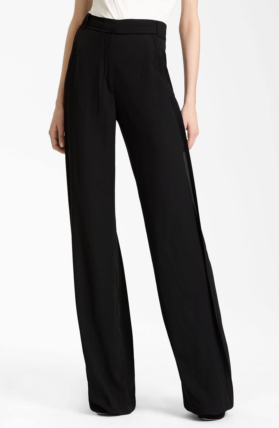Alternate Image 1 Selected - Donna Karan Collection Wide Leg Trousers