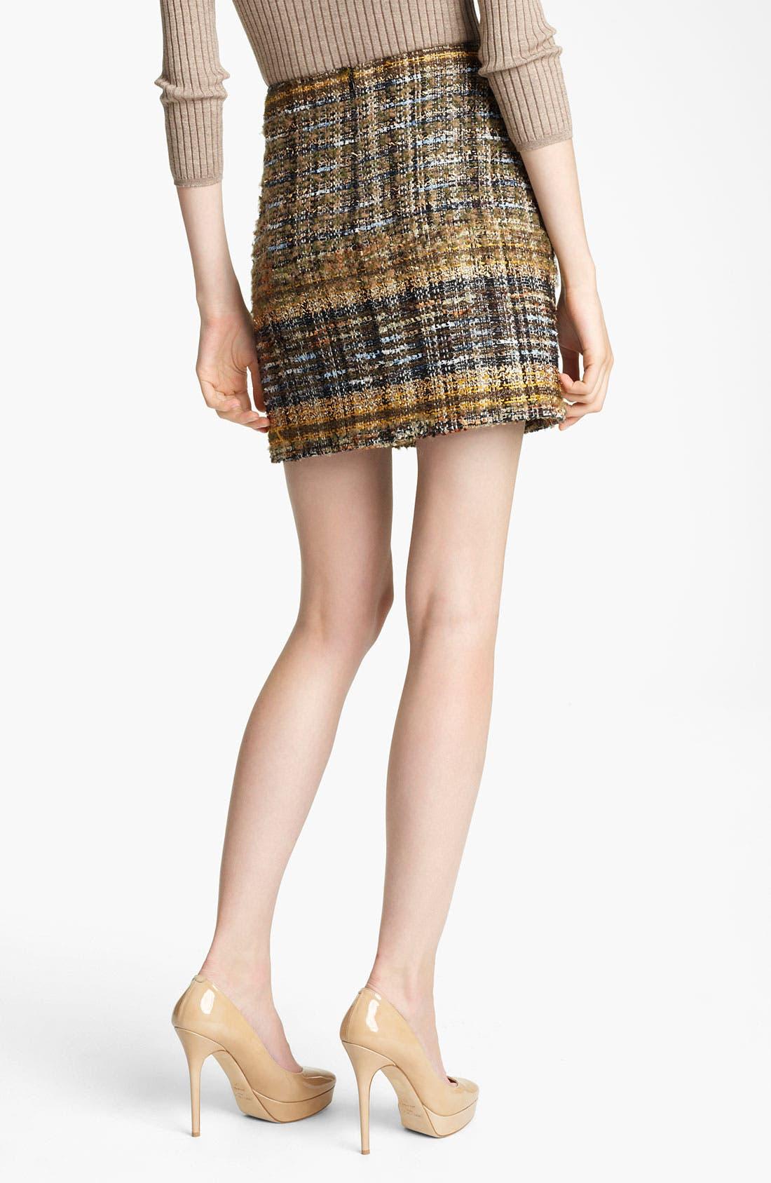 Alternate Image 2  - Blumarine Tweed Miniskirt
