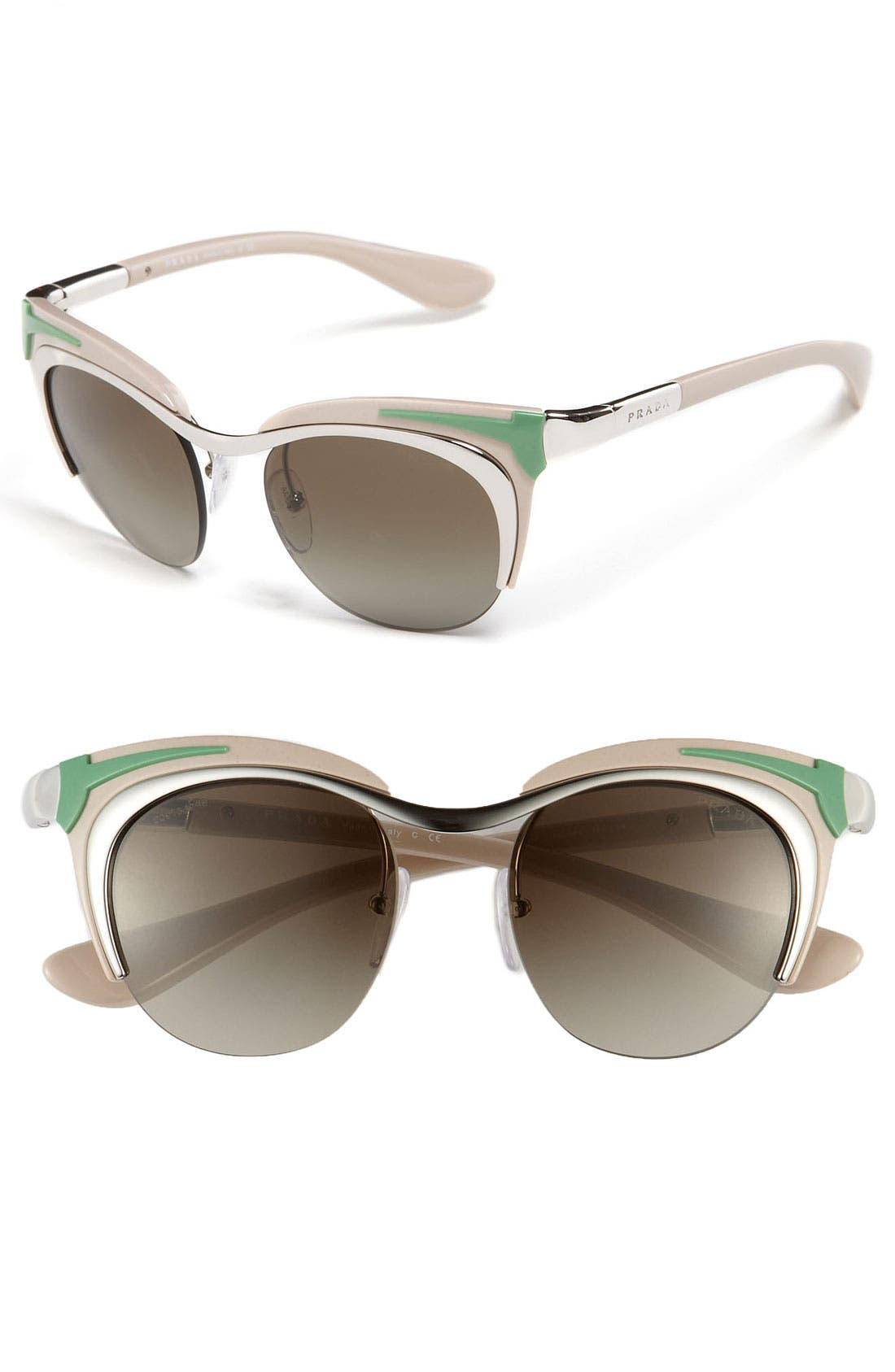 Main Image - Prada Retro Sunglasses