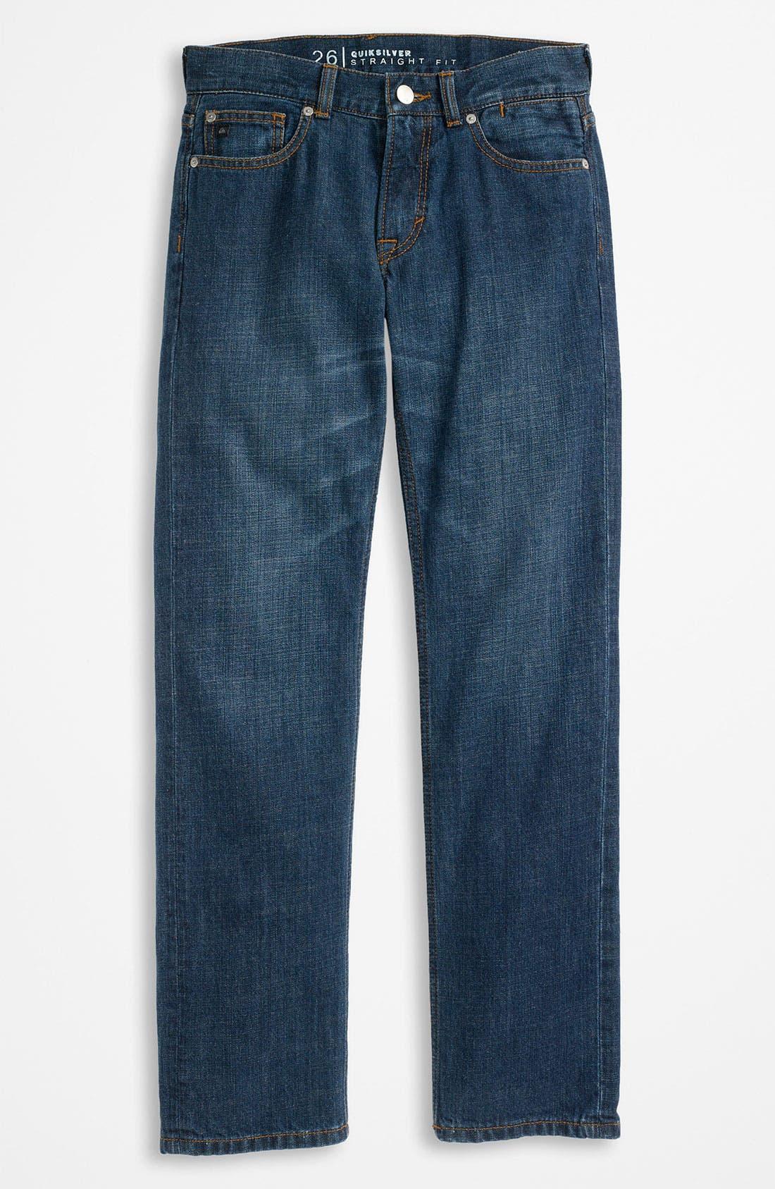 Alternate Image 2  - Quiksilver 'Revolver' Jeans (Big Boys)