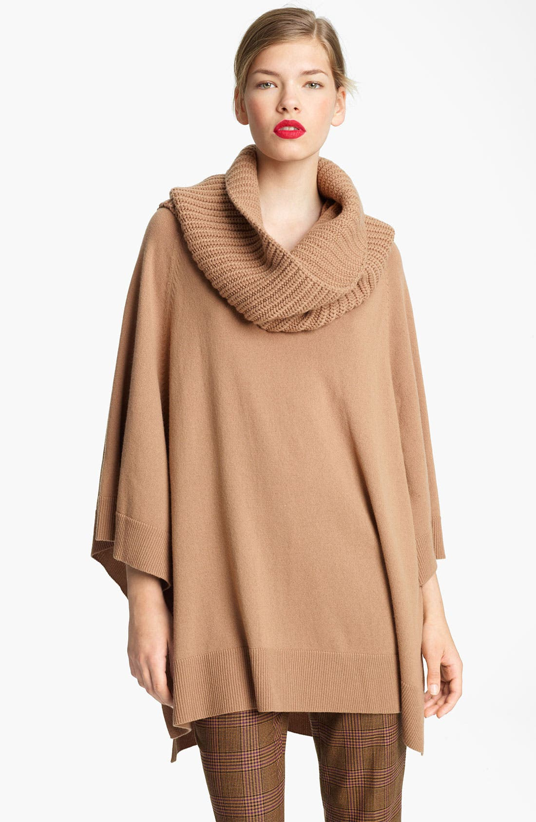 Alternate Image 1 Selected - Michael Kors Detatchable Cowl Neck Poncho