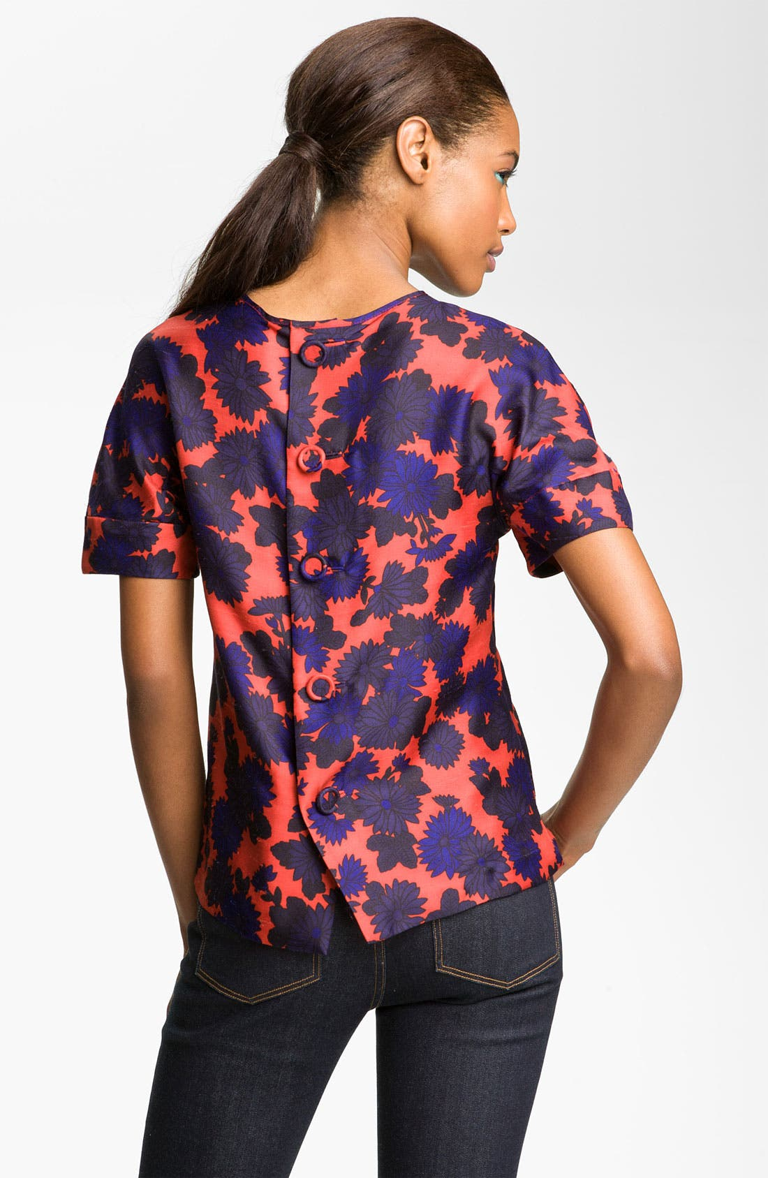 Alternate Image 2  - MARC BY MARC JACOBS 'Onyx' Silk Top