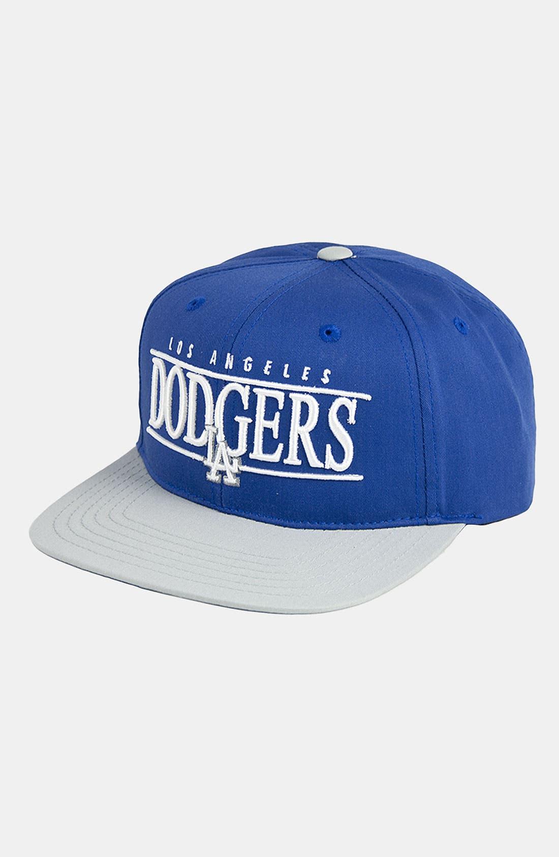 Main Image - American Needle 'Los Angeles Dodgers - Nineties' Twill Snapback Baseball Cap