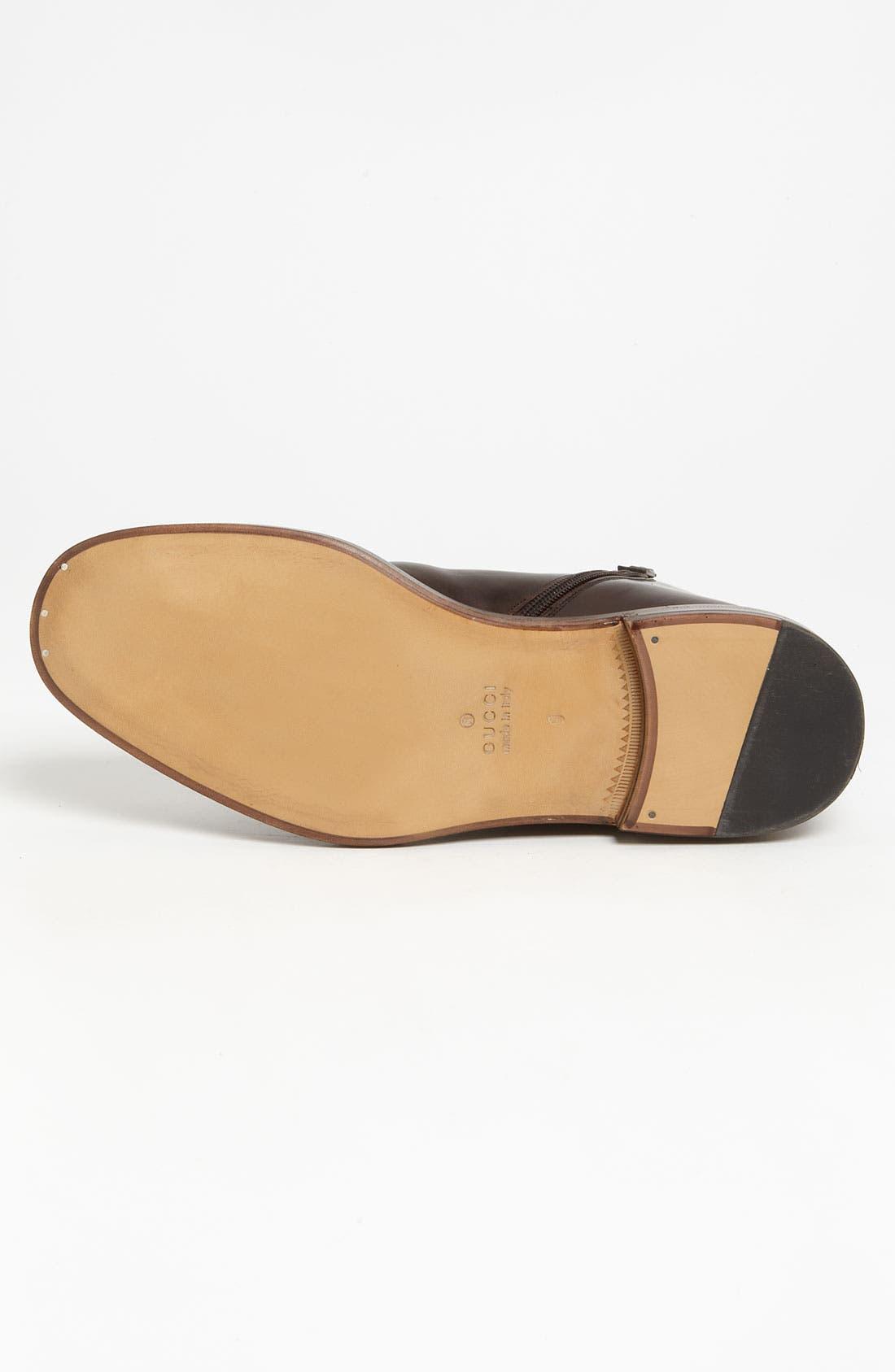 Alternate Image 4  - Gucci 'Cezanne' Plain Toe Boot