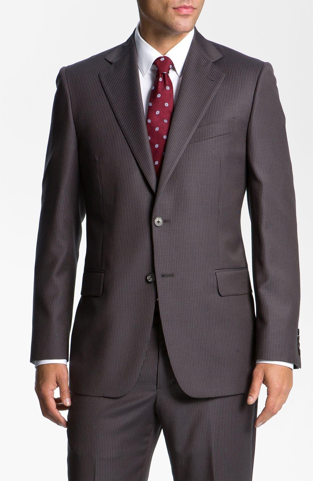 Alternate Image 1 Selected - Joseph Abboud Pinstripe Suit