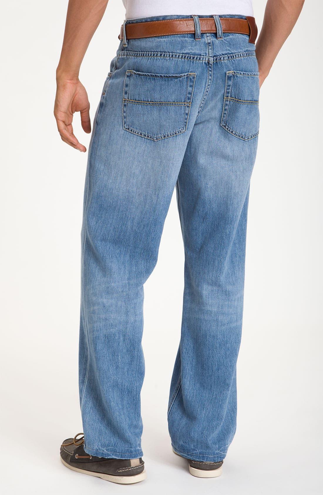 Alternate Image 2  - Tommy Bahama Denim 'Island Ease' Straight Leg Jeans (Vintage Light)