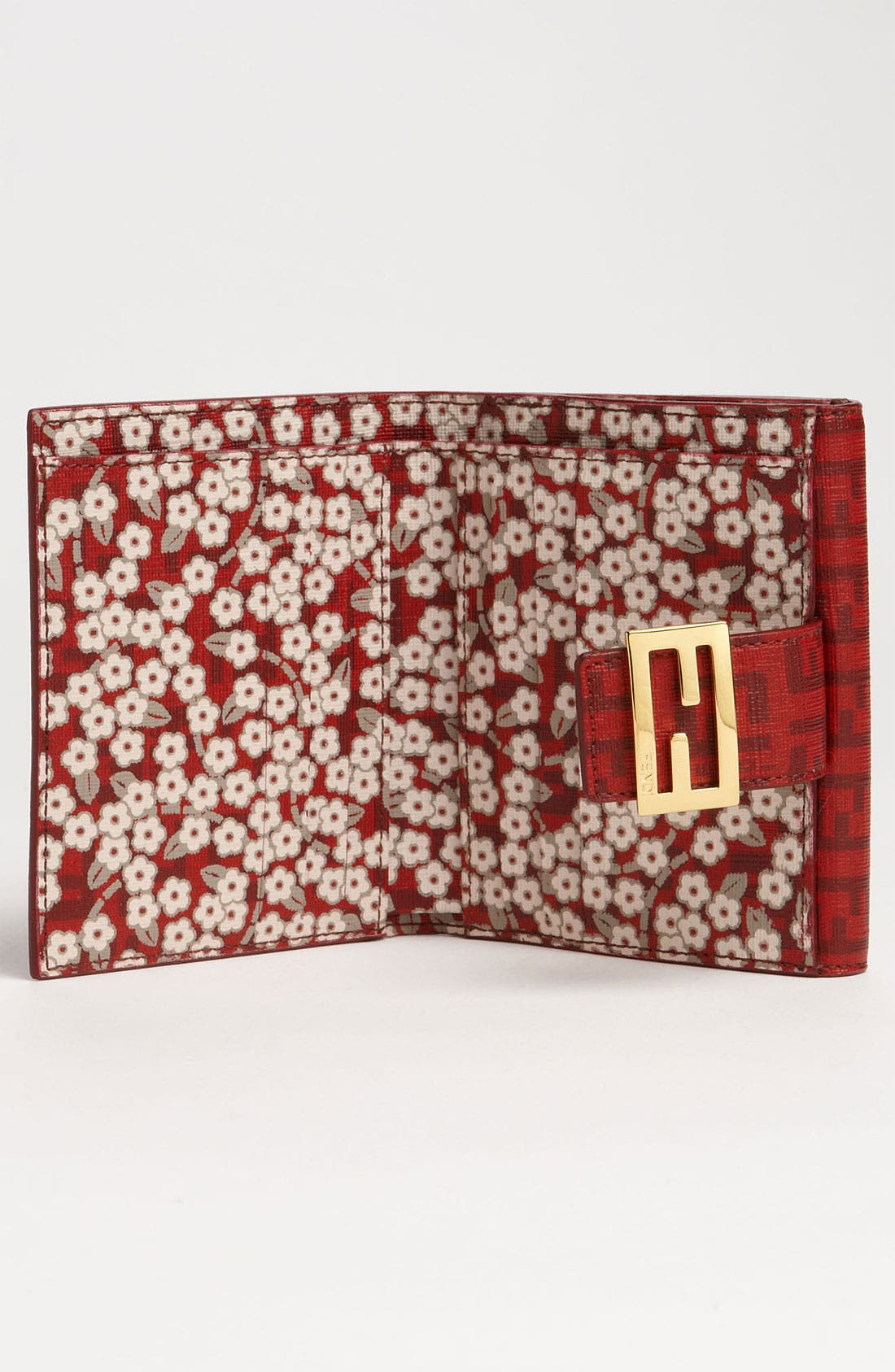 Alternate Image 2  - Fendi 'Forever Flowers' French Wallet