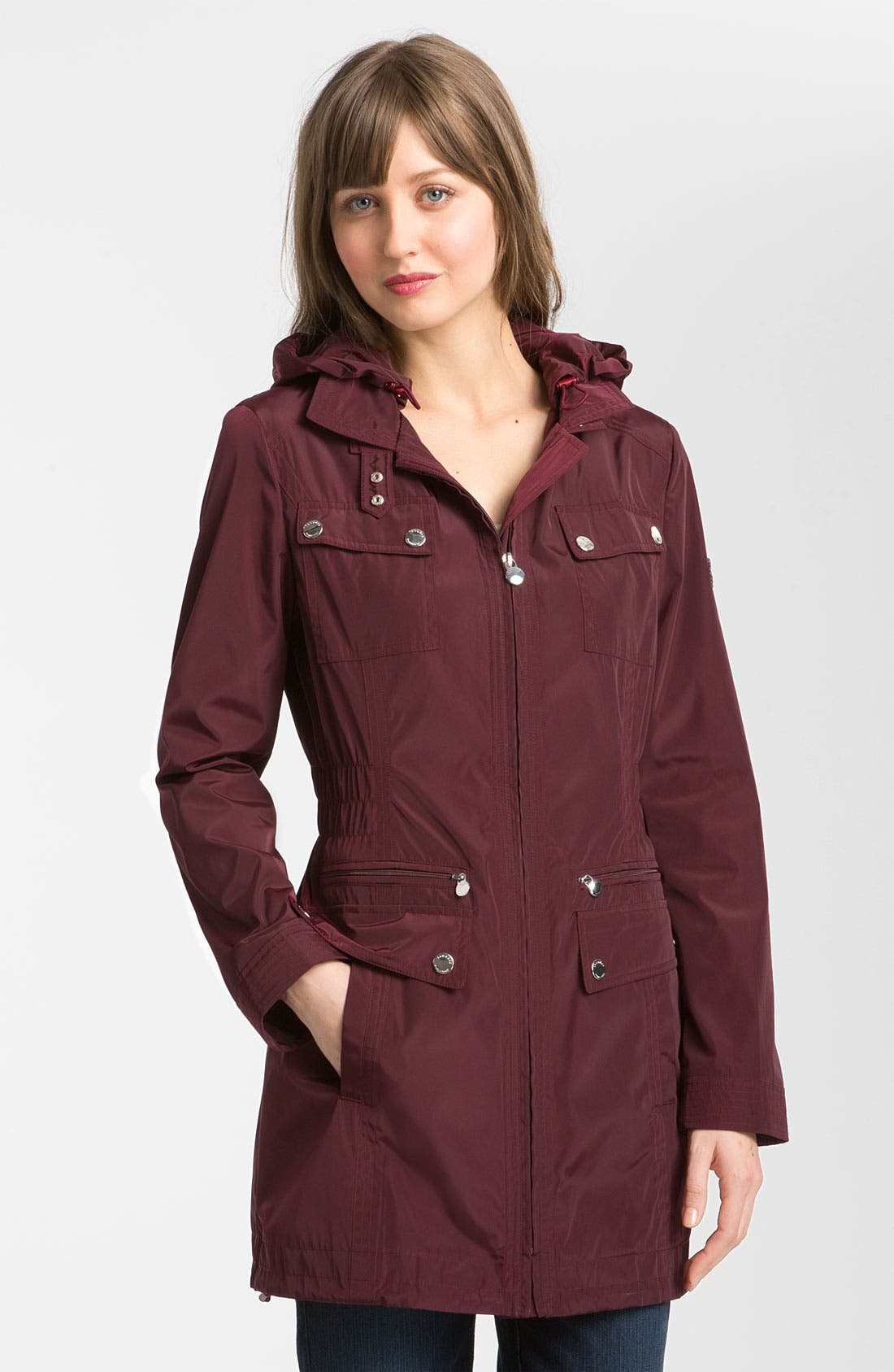 Alternate Image 1 Selected - Laundry by Shelli Segal Packable Anorak