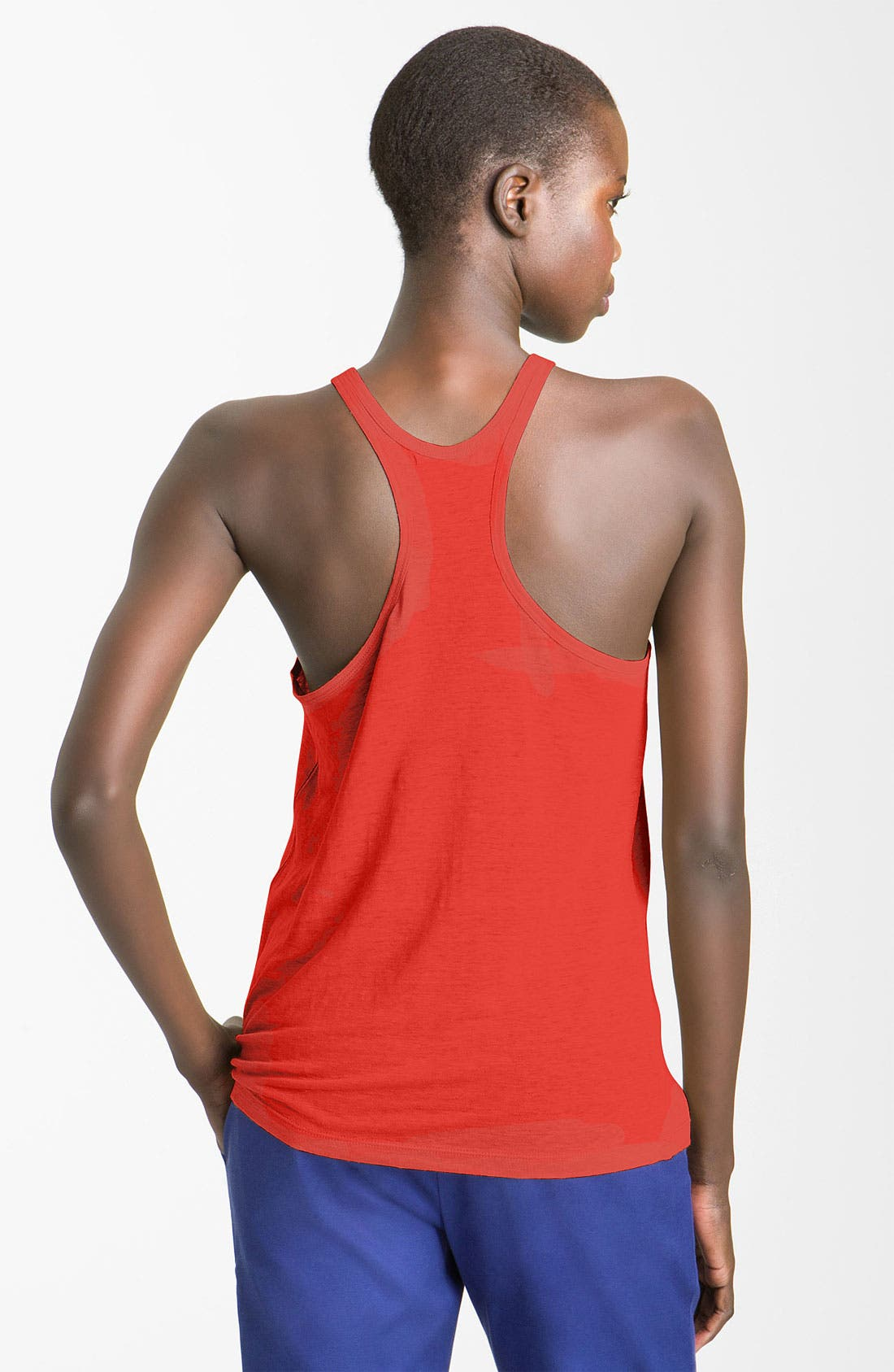 Alternate Image 2  - T by Alexander Wang Jersey Tank