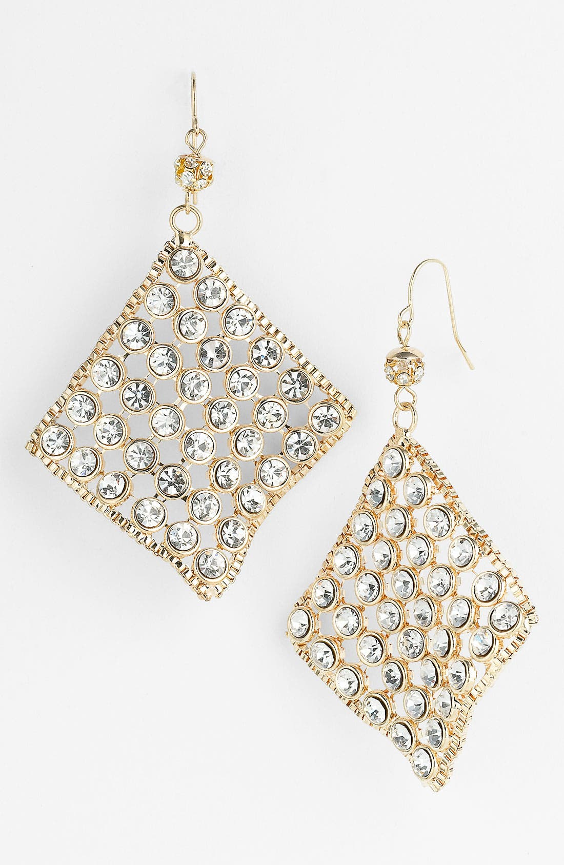 Main Image - Spring Street Diamond Shaped Earrings