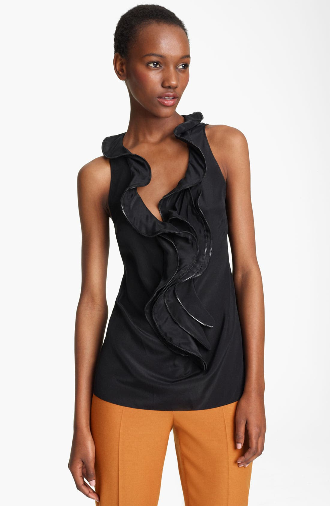Alternate Image 1 Selected - Moschino Cheap & Chic Ruffle Top