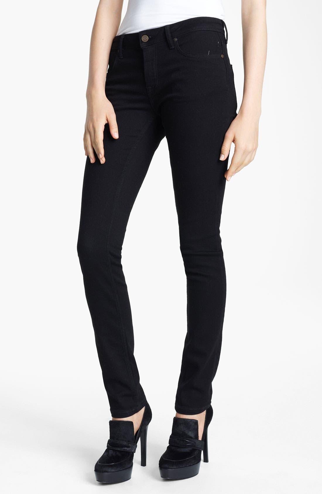 Alternate Image 1 Selected - Burberry Brit Skinny Jeans
