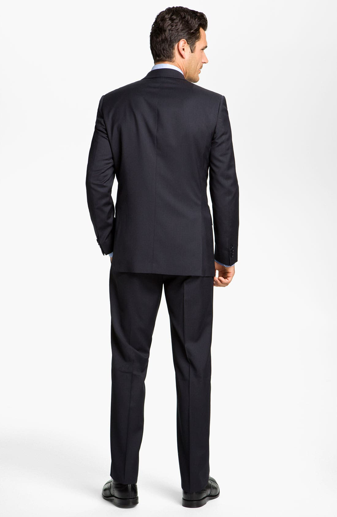 Alternate Image 5  - John Varvatos Star USA 'Thompson' Flat Front Wool Trousers
