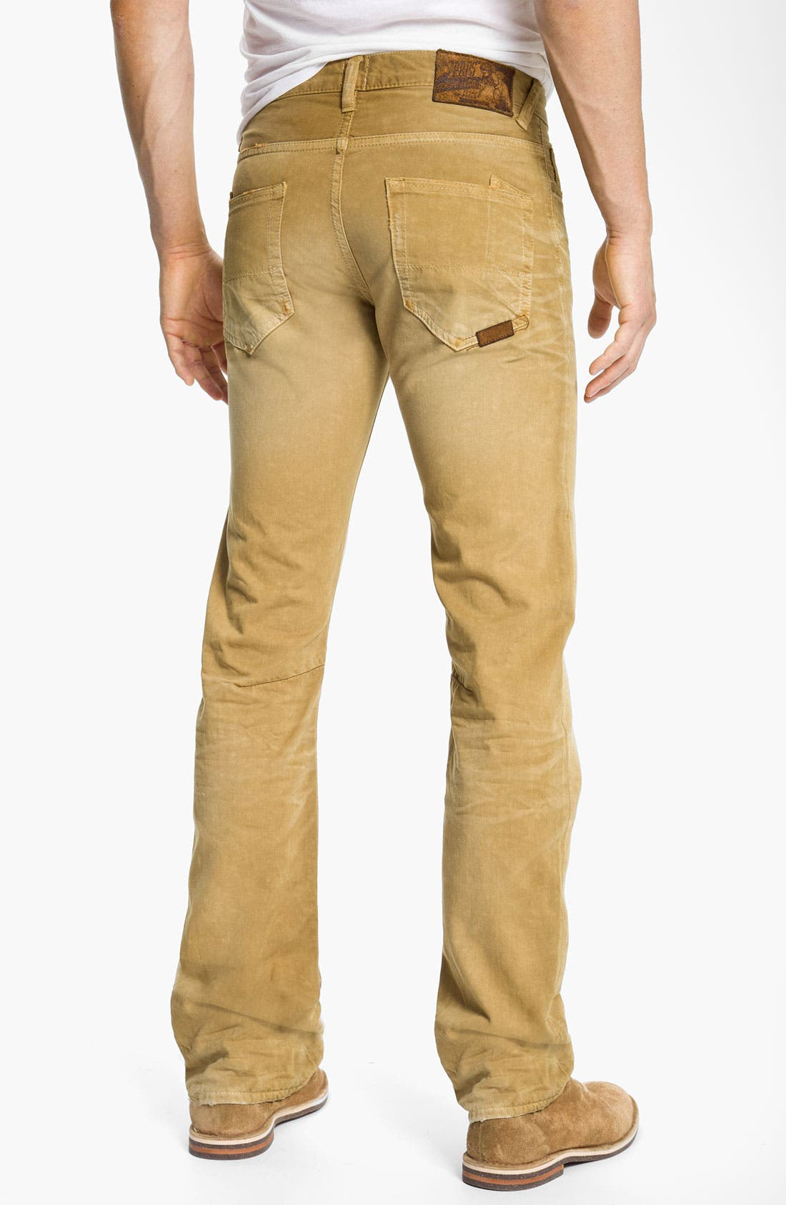 Main Image - PRPS 'Rambler' Slim Straight Leg Jeans (Base Camp)
