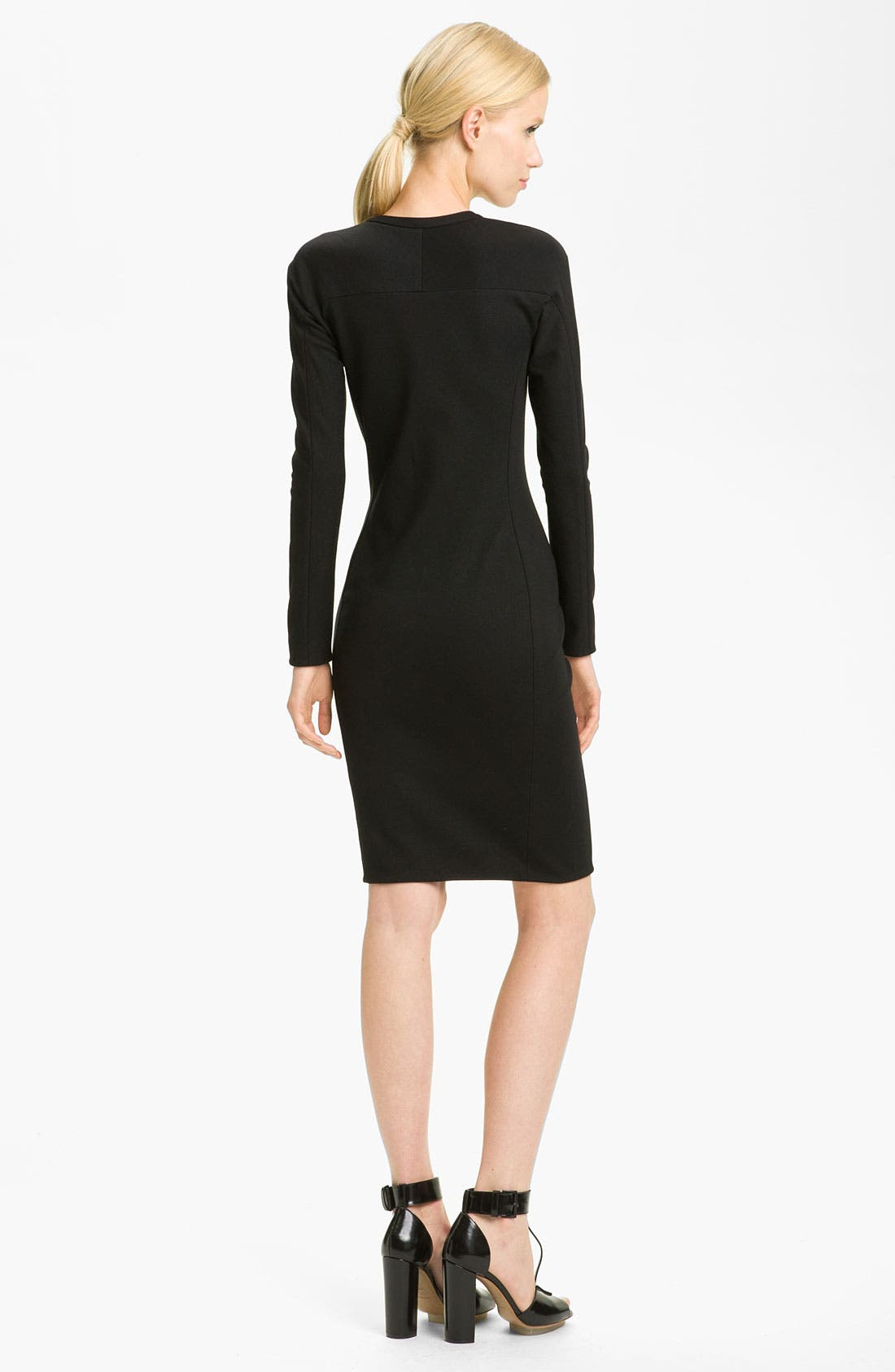 Alternate Image 2  - 3.1 Phillip Lim Shadow Stripe Ponte Knit Dress