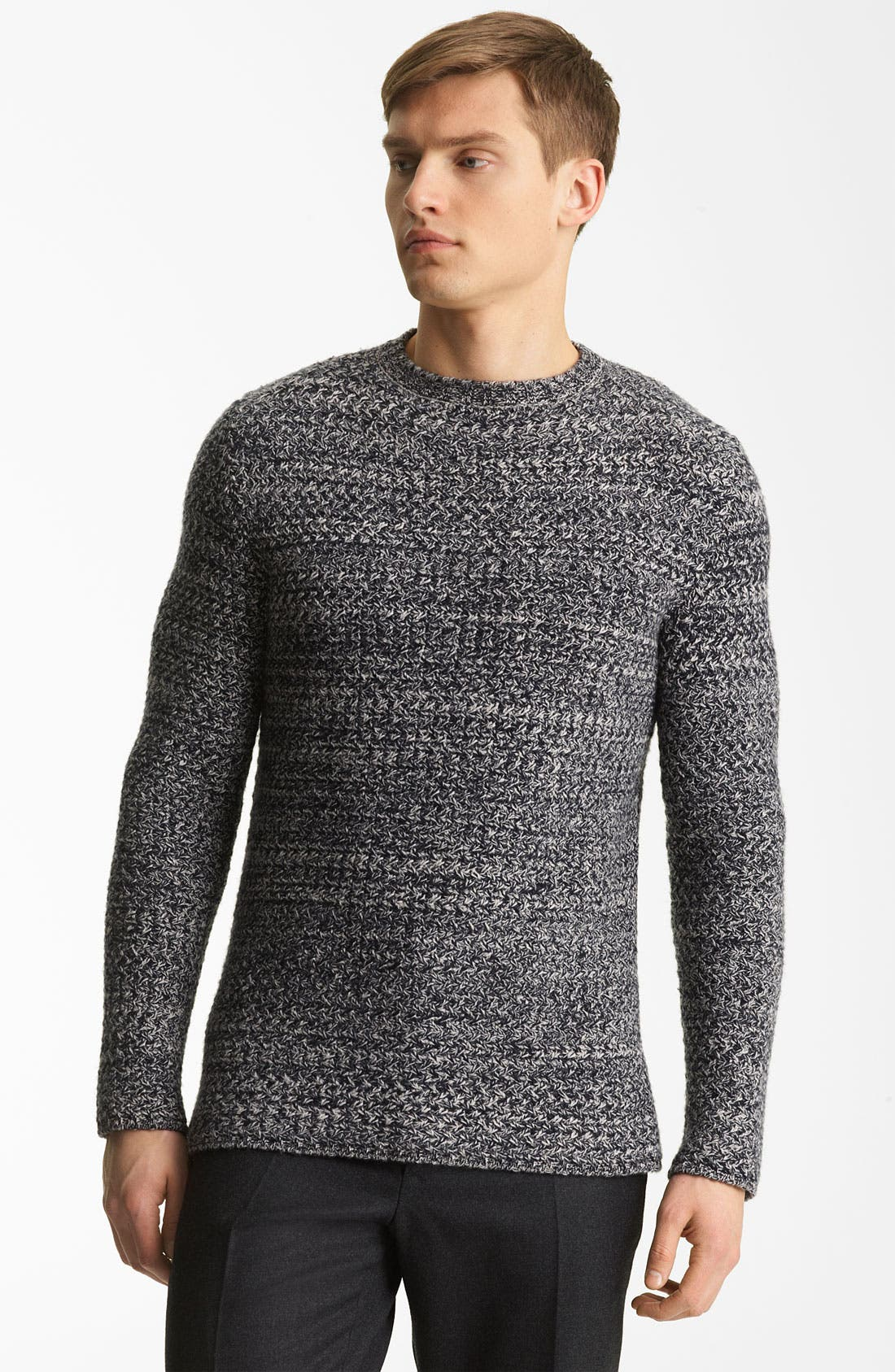 Main Image - Marni Tweed Cashmere Sweater