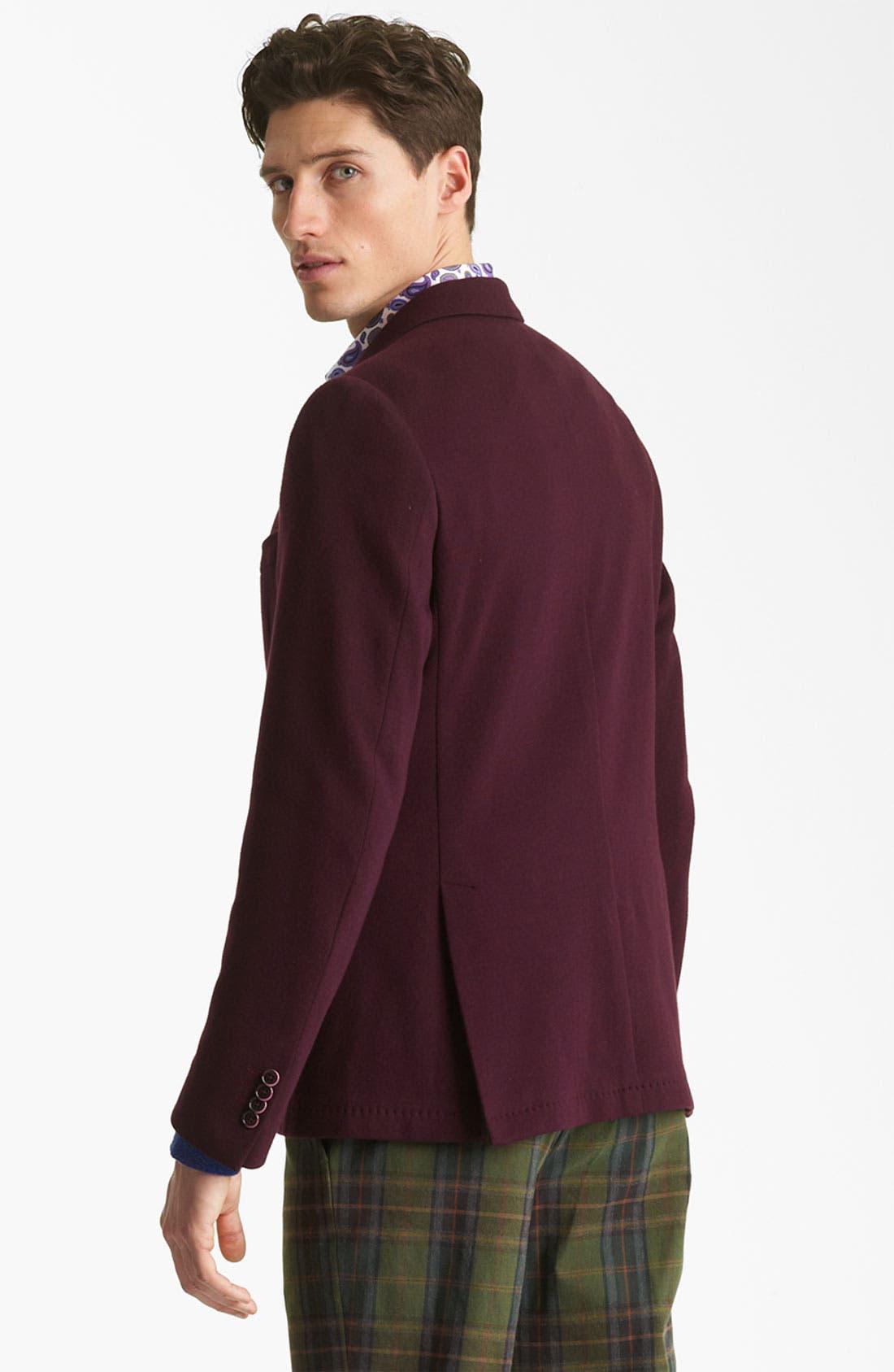 Alternate Image 2  - Etro Cotton Blazer