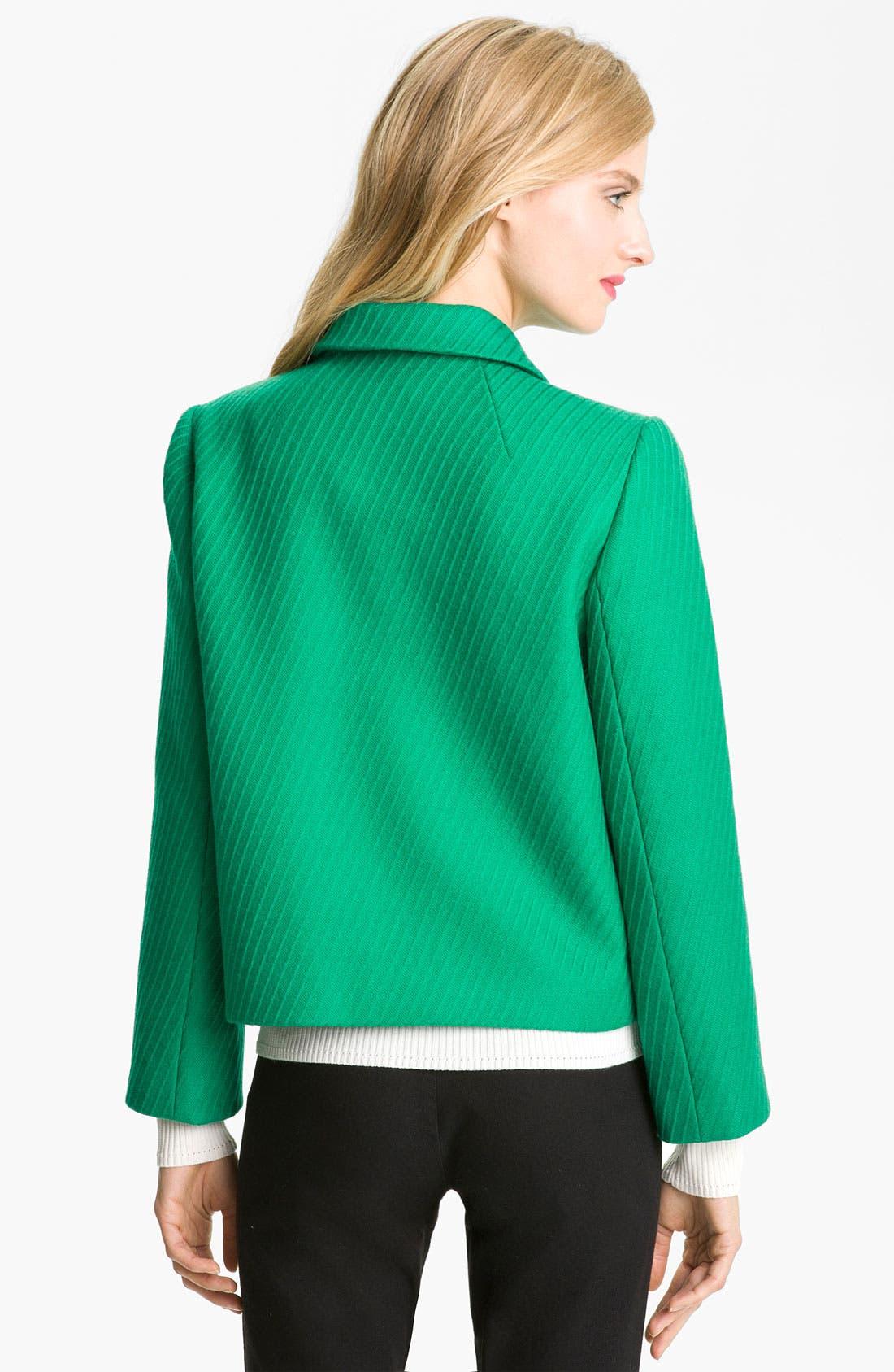 Alternate Image 2  - Milly Crop Wool Jacket