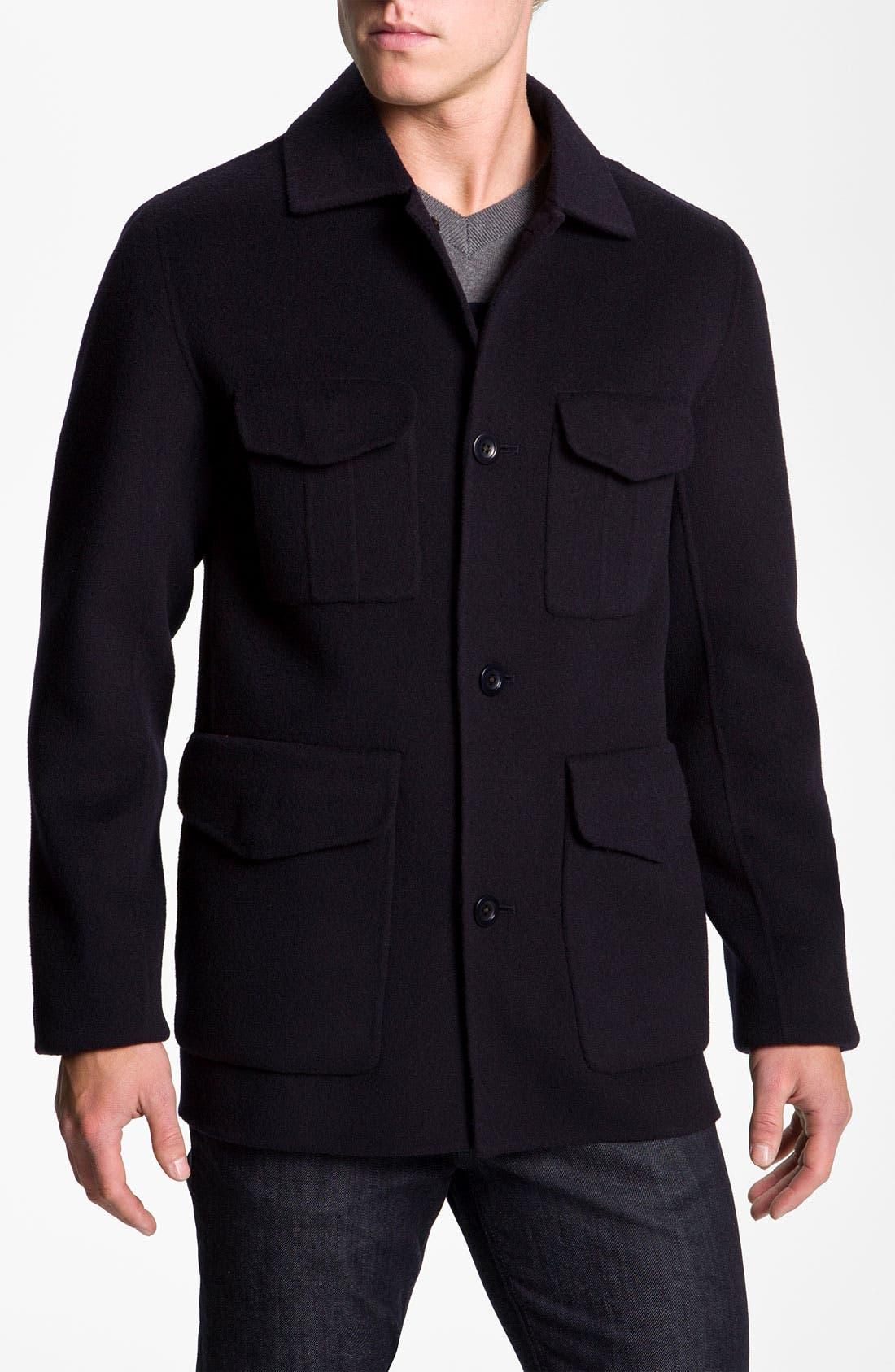 Main Image - Vince Wool Blend Worker Jacket