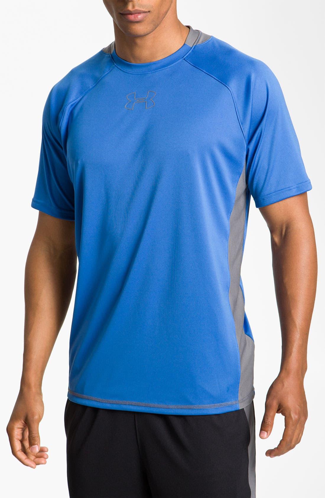 Main Image - Under Armour 'Advent' Regular Fit T-Shirt