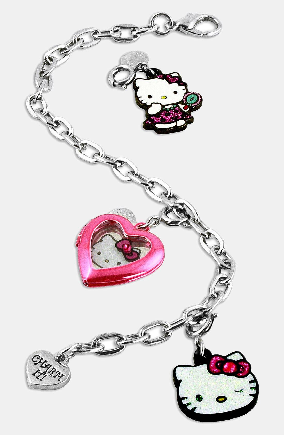 Alternate Image 1 Selected - CHARM IT®! Hello Kitty® Charm Bracelet (Girls)