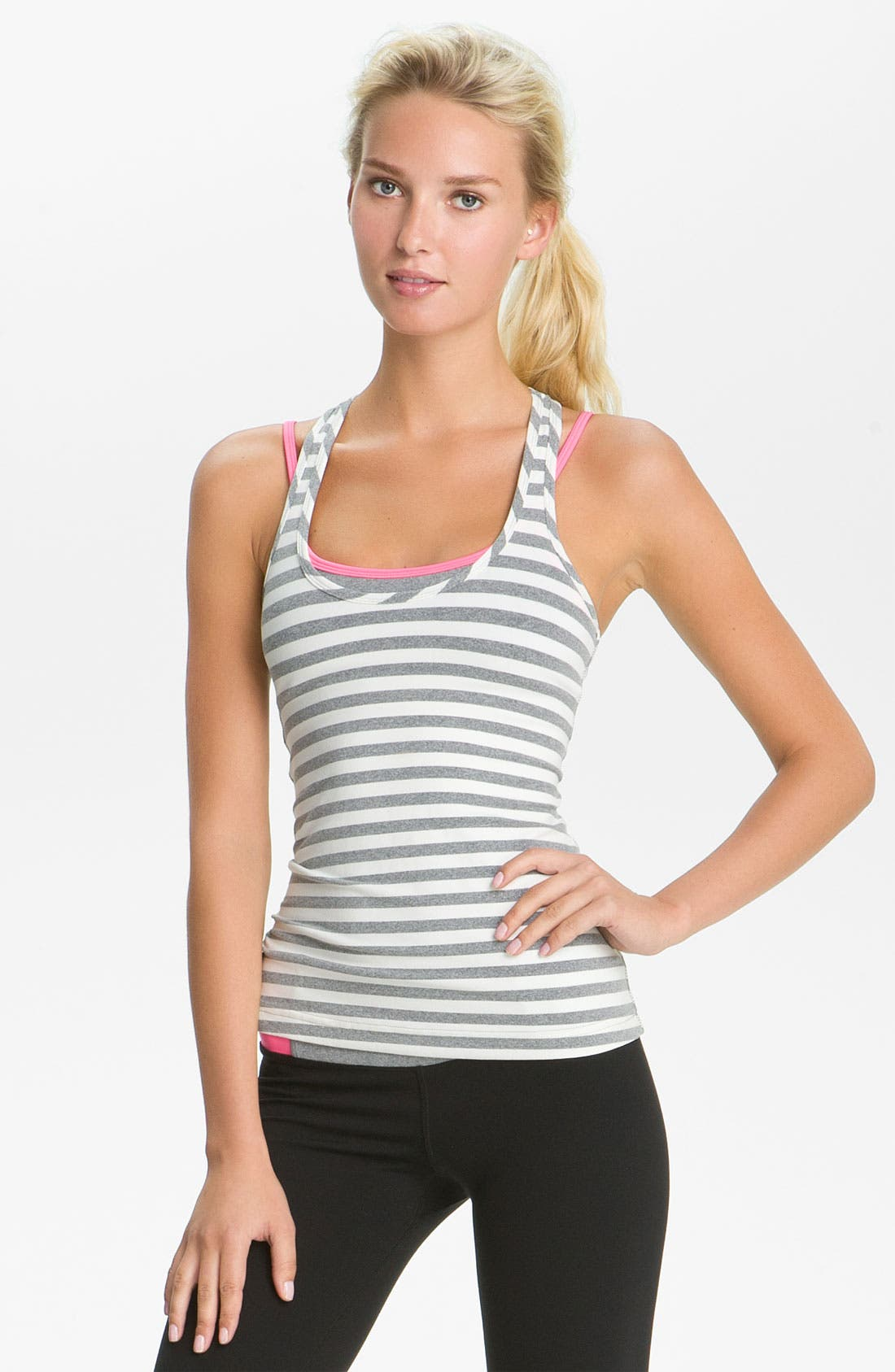 Alternate Image 1 Selected - Hard Tail Scoop Neck Racerback Tank