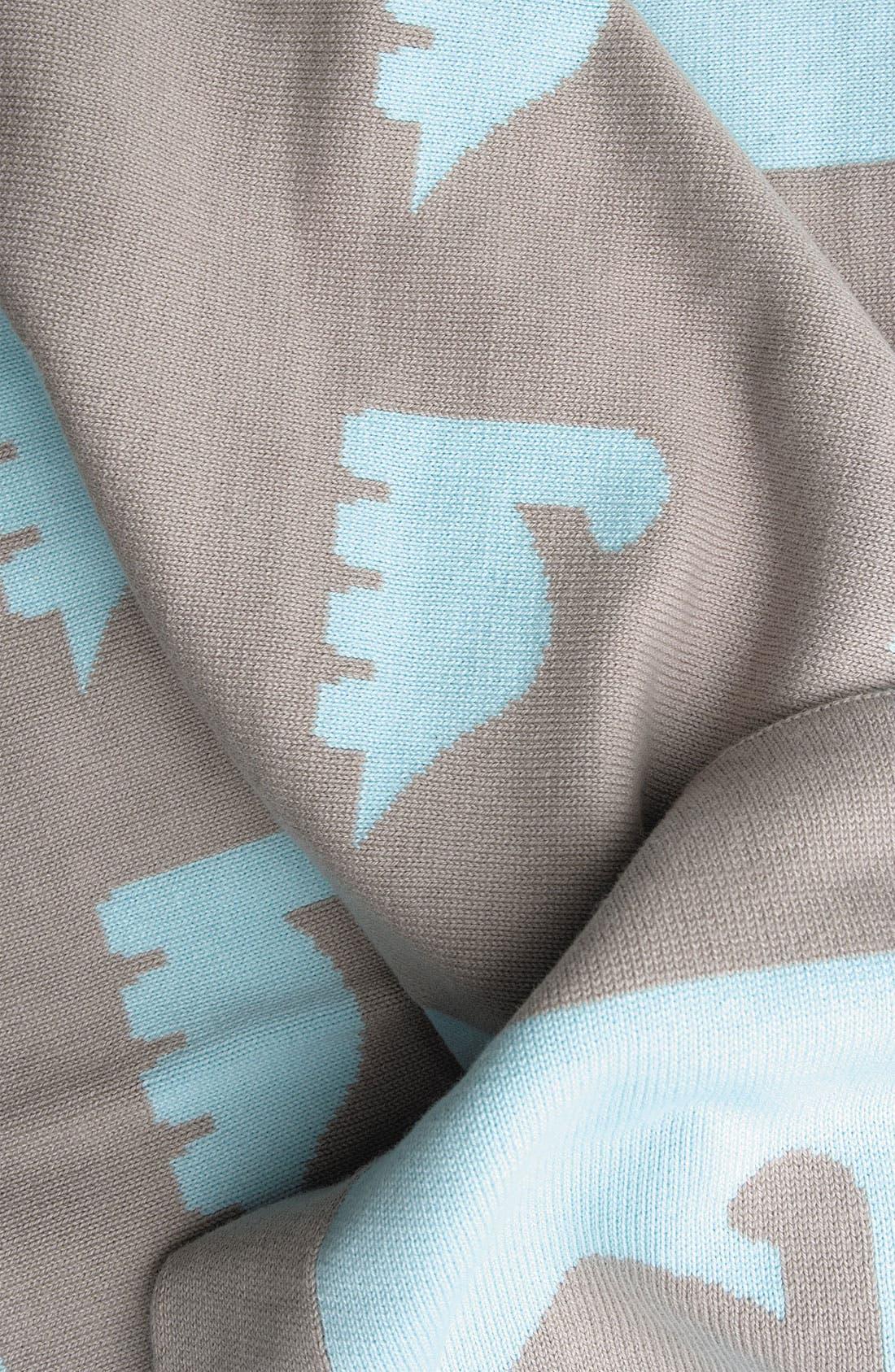 Alternate Image 2  - weegoamigo 'Dino Herd' Reversible Blanket