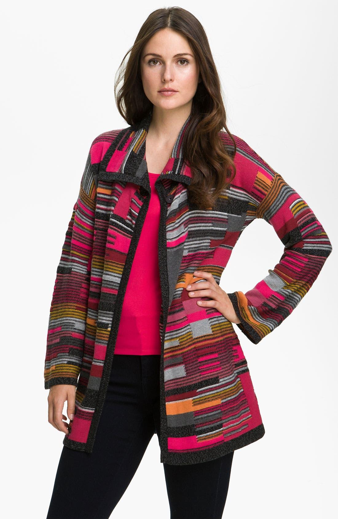 Main Image - Nic + Zoe 'Puzzle' Knit Jacket