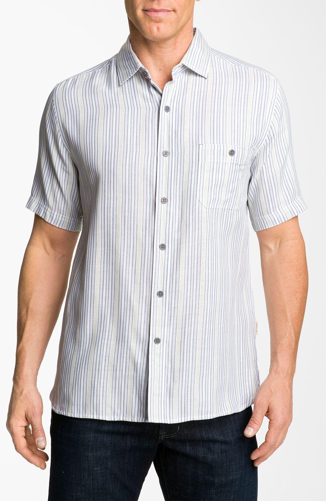 Alternate Image 1 Selected - Nat Nast 'Dog Daze' Silk & Cotton Sport Shirt