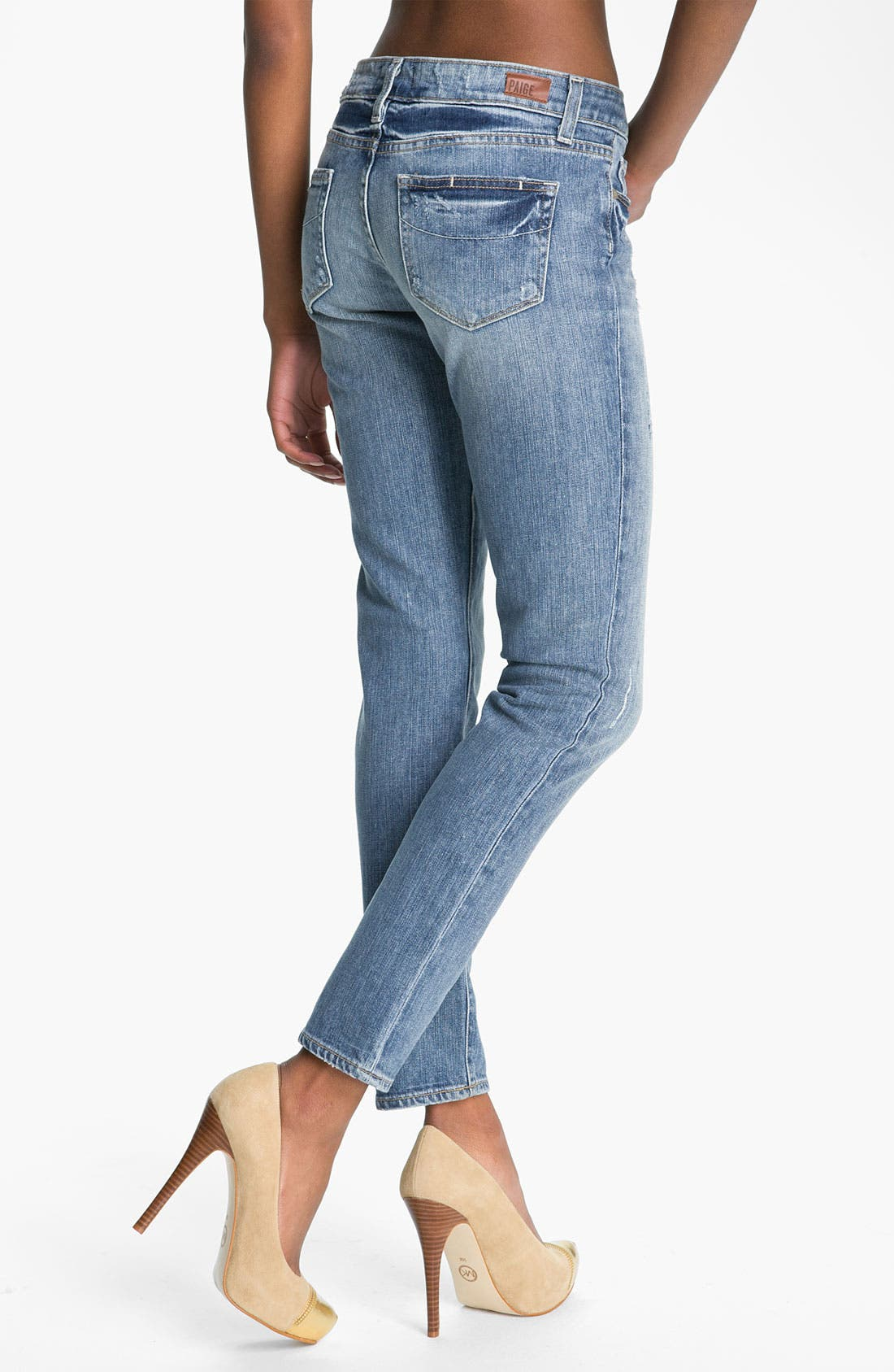 Alternate Image 2  - Paige Denim 'Skyline - Ankle Peg' Skinny Stretch Jeans (Beachwood)