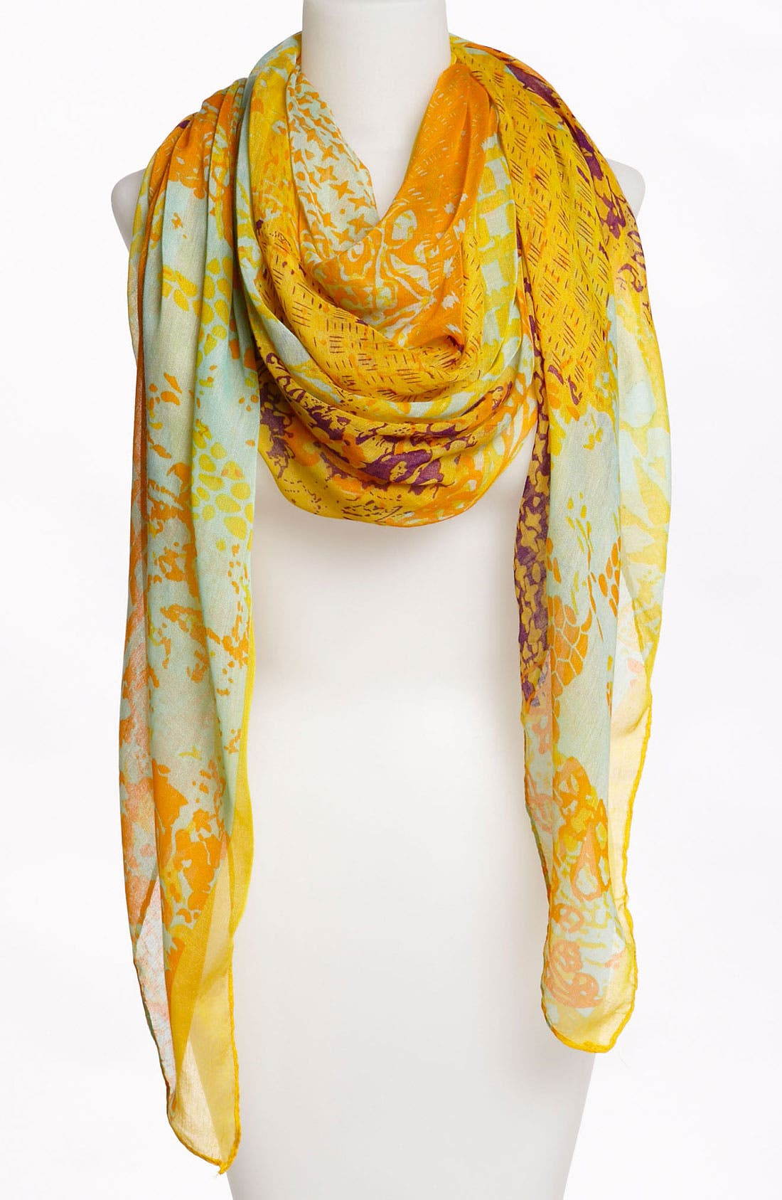 Main Image - David & Young Print Scarf