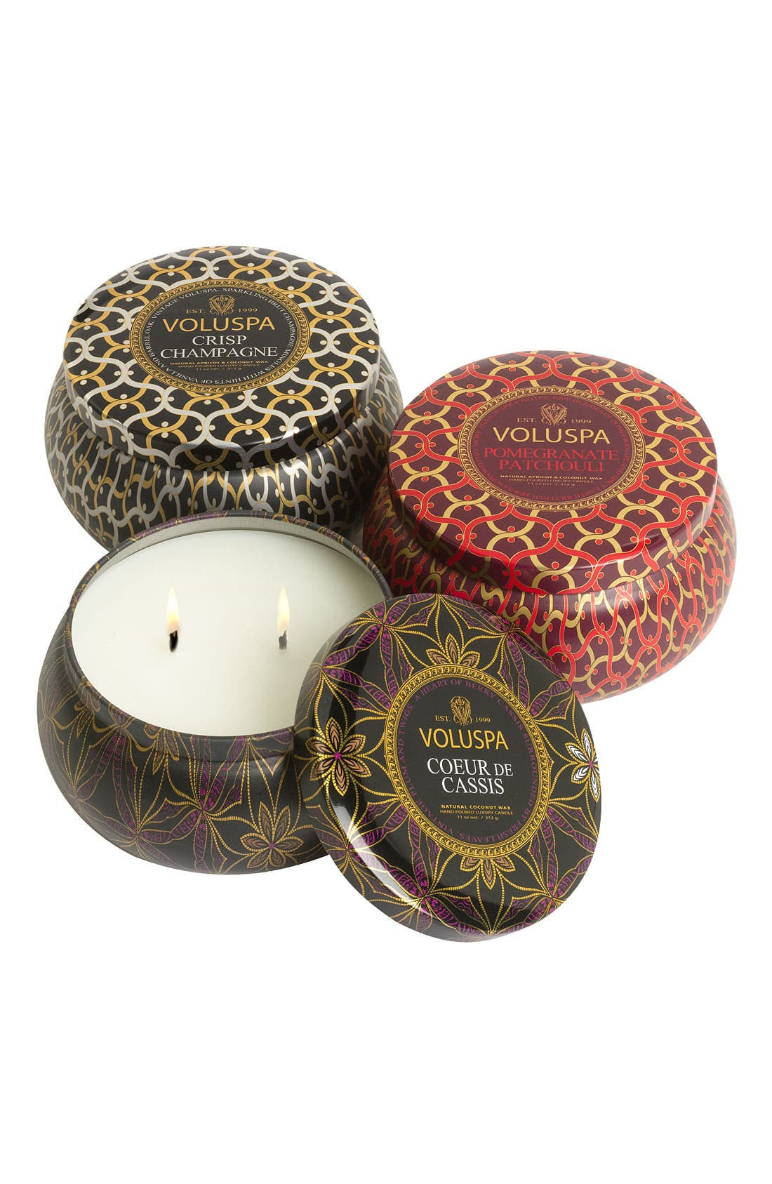 Alternate Image 1 Selected - Voluspa 'Maison Collections' Anniversary Candle Trio ($48 Value)