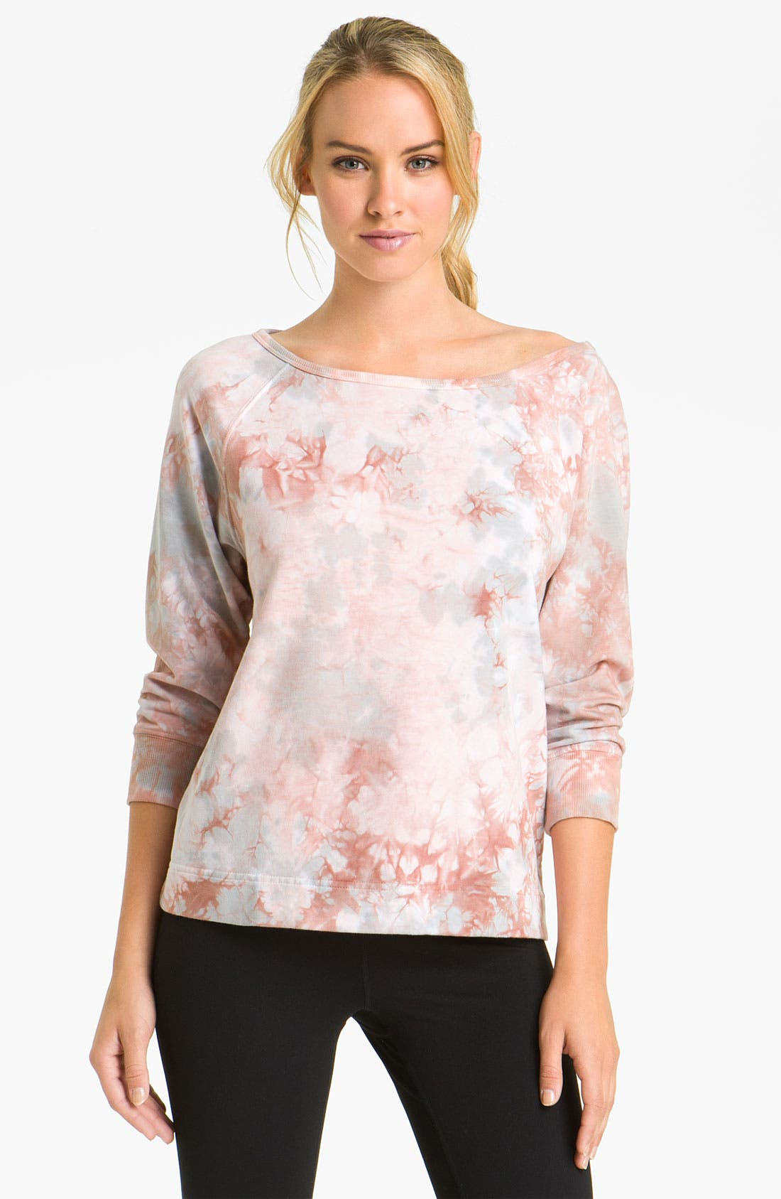 Alternate Image 1 Selected - Pink Lotus 'After Dance' Pullover