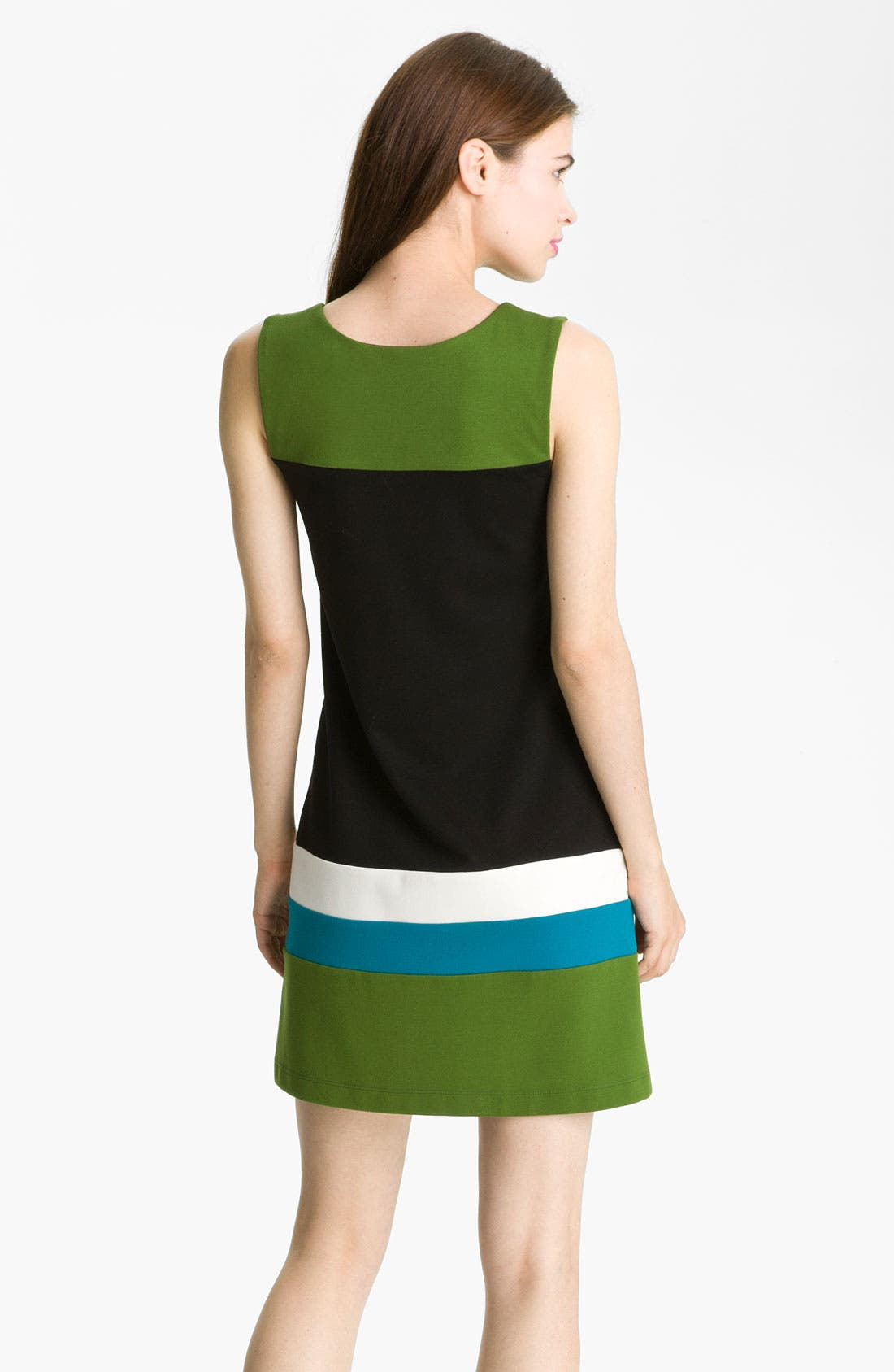 Alternate Image 2  - B44 Dressed by Bailey 'Carlo' Colorblock Ponte Shift Dress