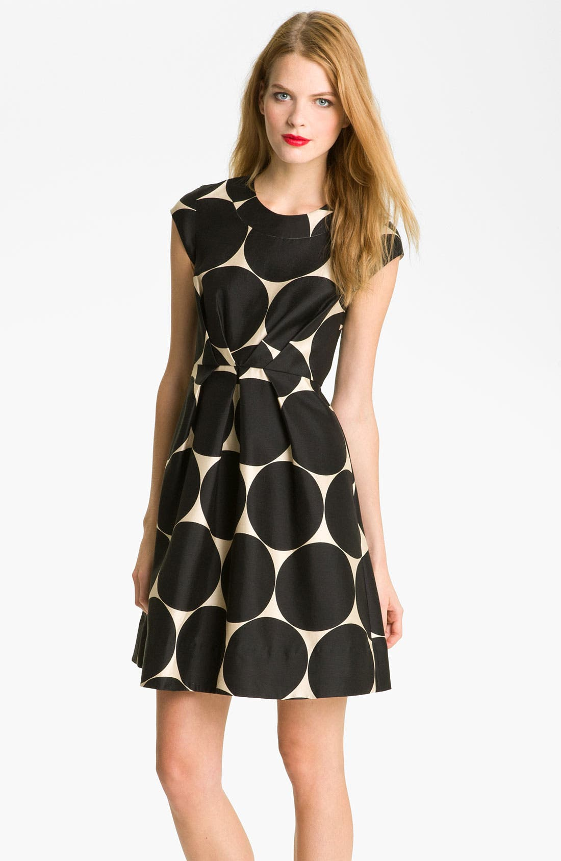 Main Image - kate spade new york 'jane' fit & flare dress (Online Exclusive)