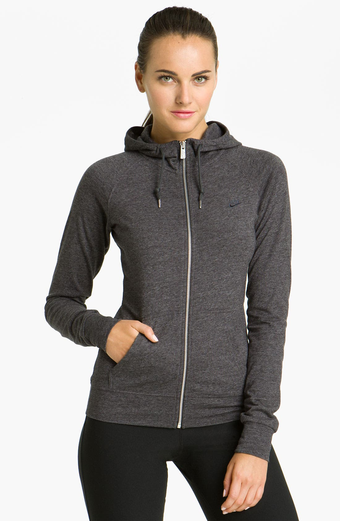 Alternate Image 1 Selected - Nike 'Time Out' Hoodie