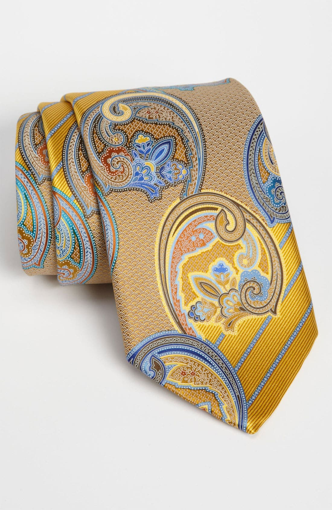 Alternate Image 1 Selected - Ermenegildo Zegna 'Quindici' Print Silk Tie