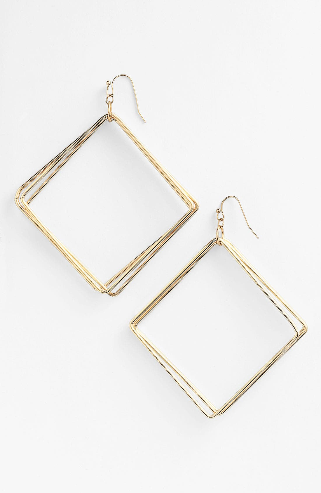 Main Image - Guinevere Multi Square Metal Earrings