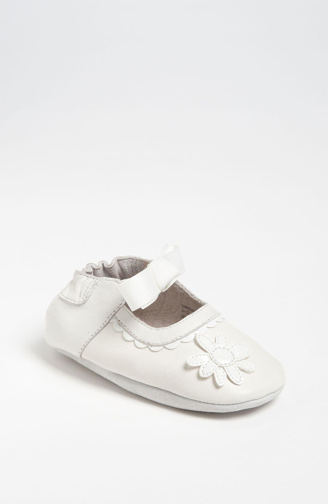 Alternate Image 1 Selected - Nordstrom Baby 'Daisy' Crib Shoe (Infant)