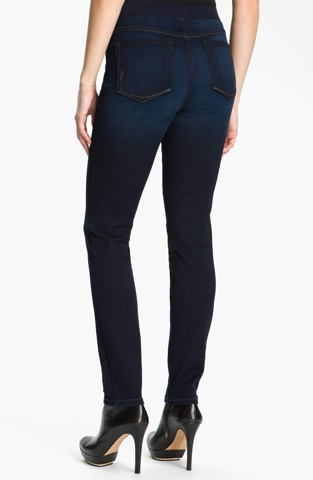 Alternate Image 2  - NYDJ 'Claire' Pull-On Denim Leggings