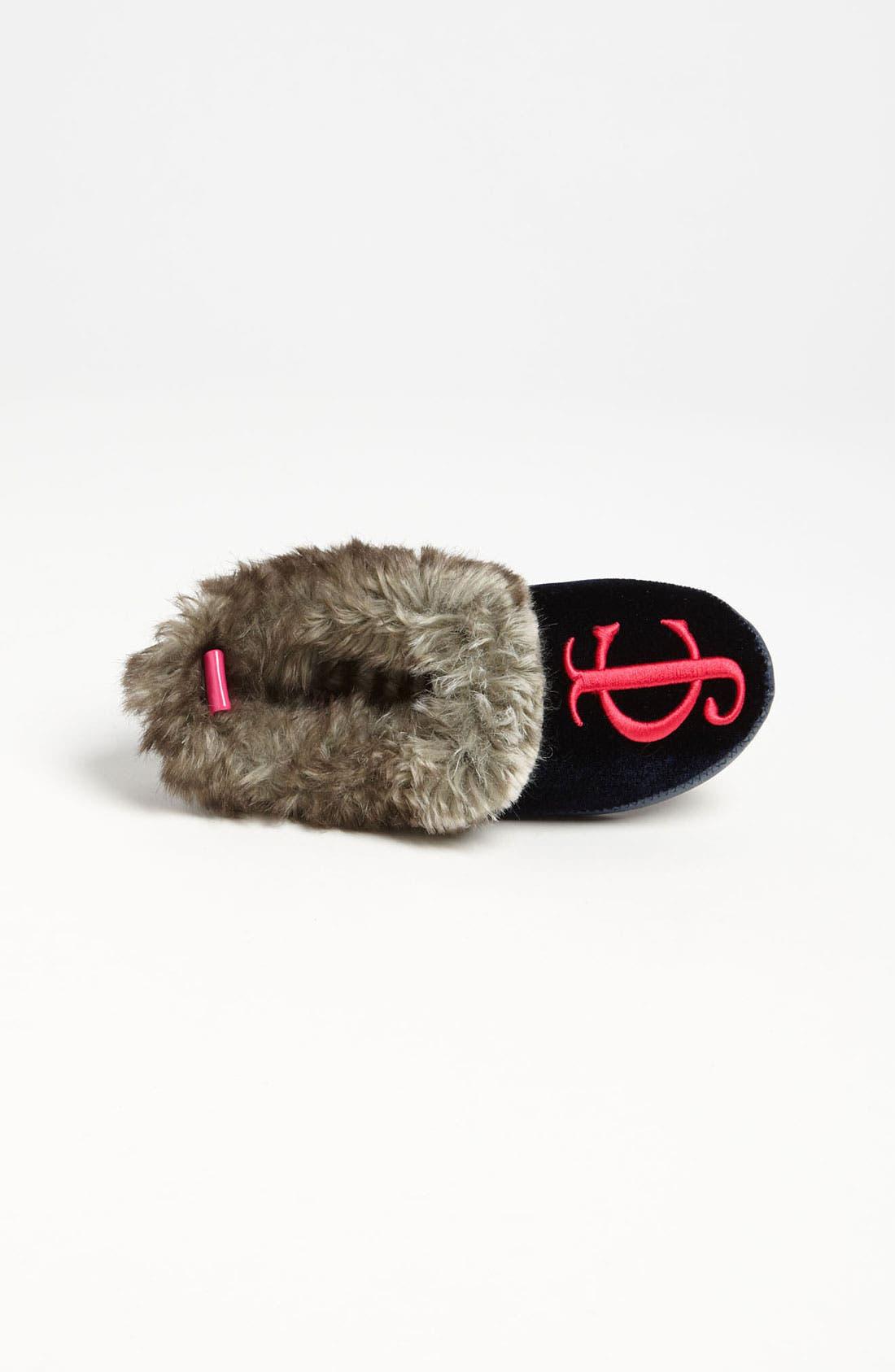 Alternate Image 3  - Juicy Couture 'Kelly' Slipper (Toddler, Little Kid & Big Kid)