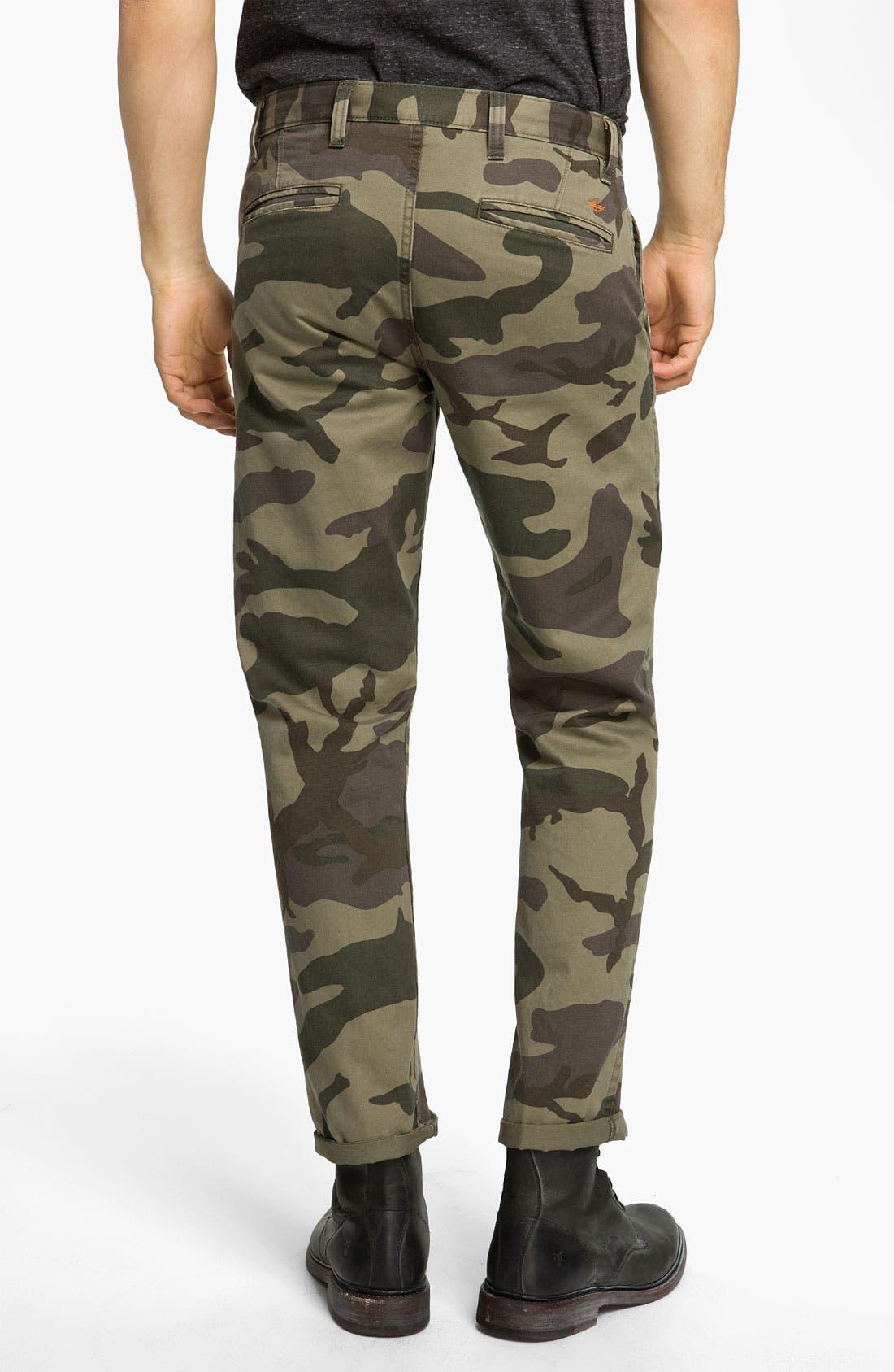 Alternate Image 2  - Dockers® 'Alpha Khaki' Slim Straight Leg Chinos